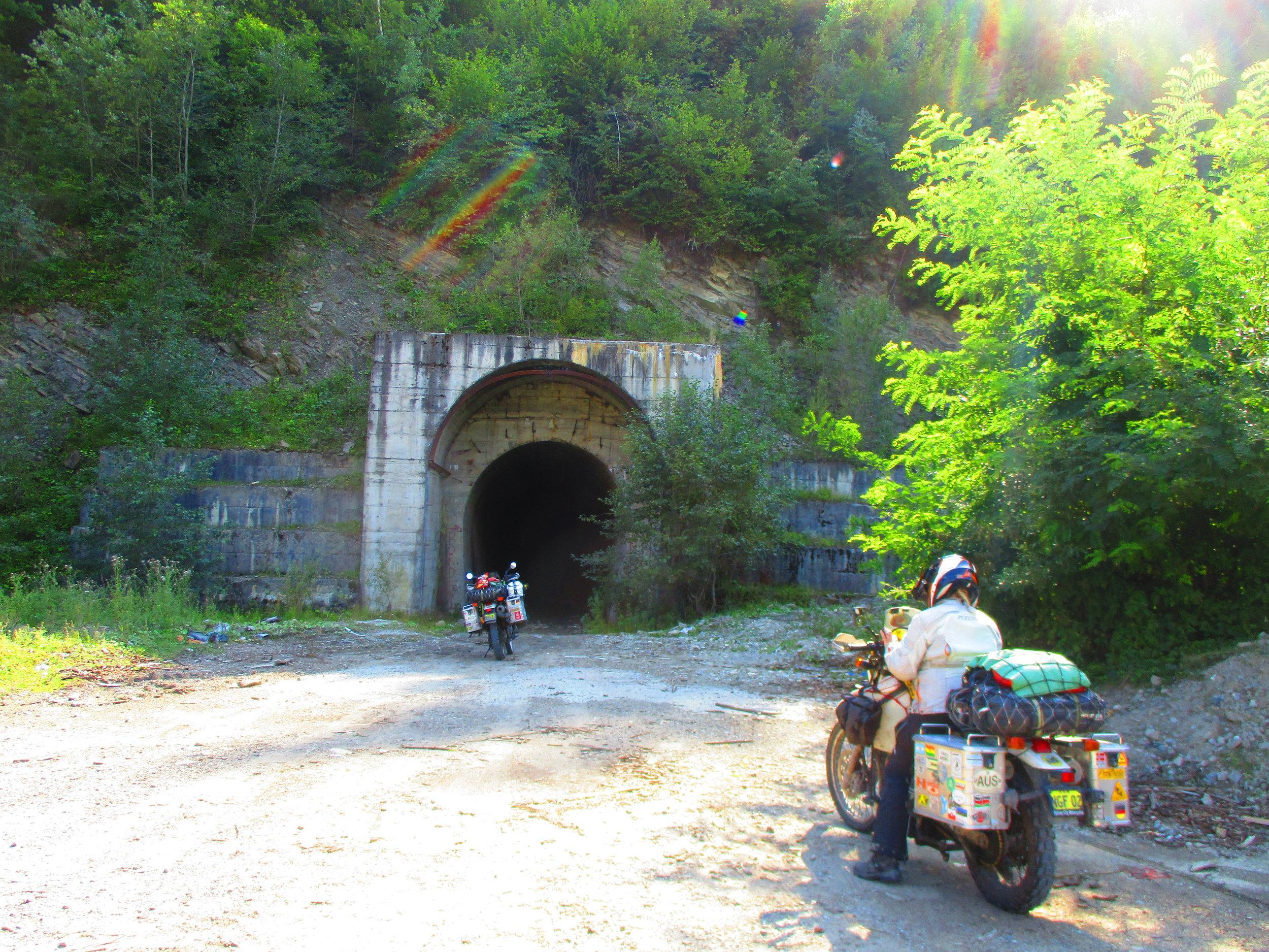 Spooky Romanian tunnel