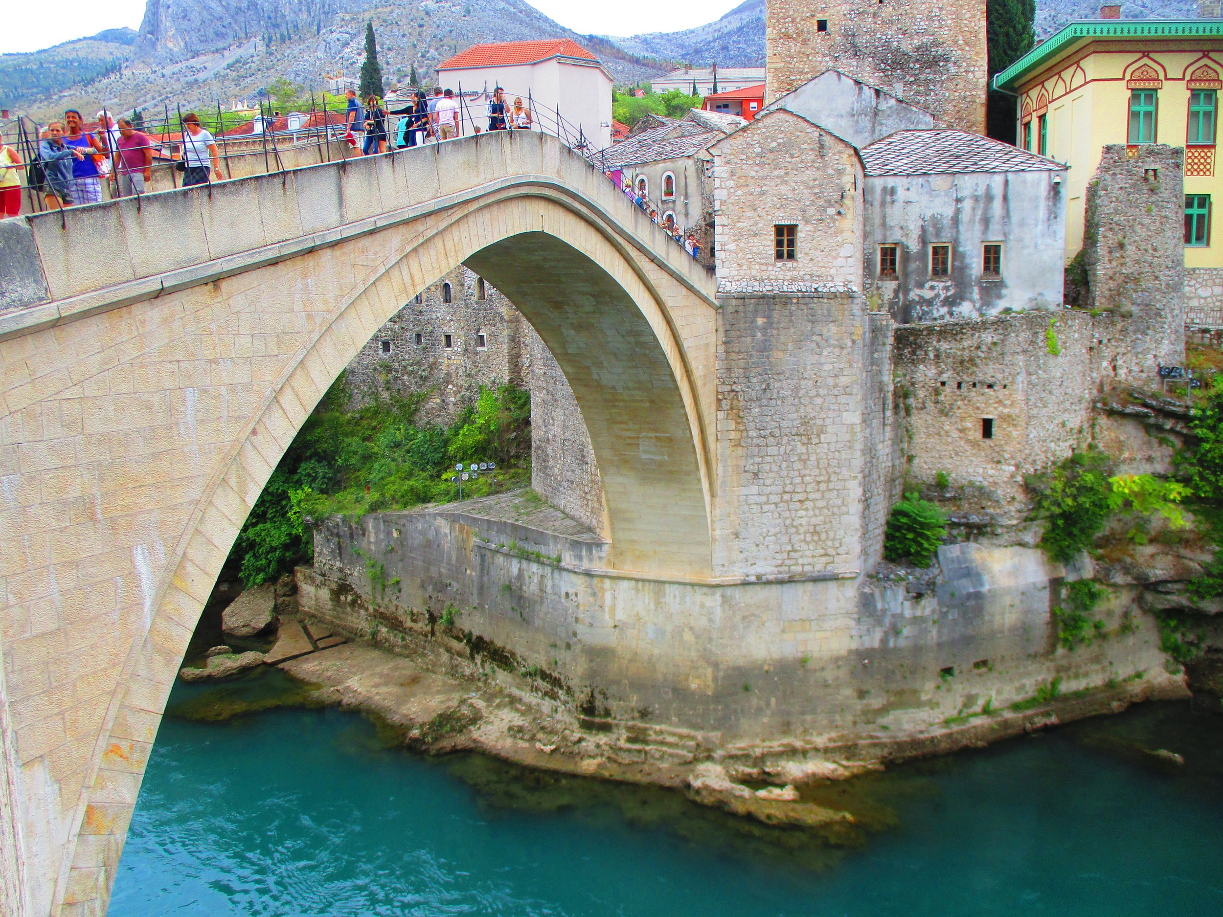 The 'Old Bridge', Mostar