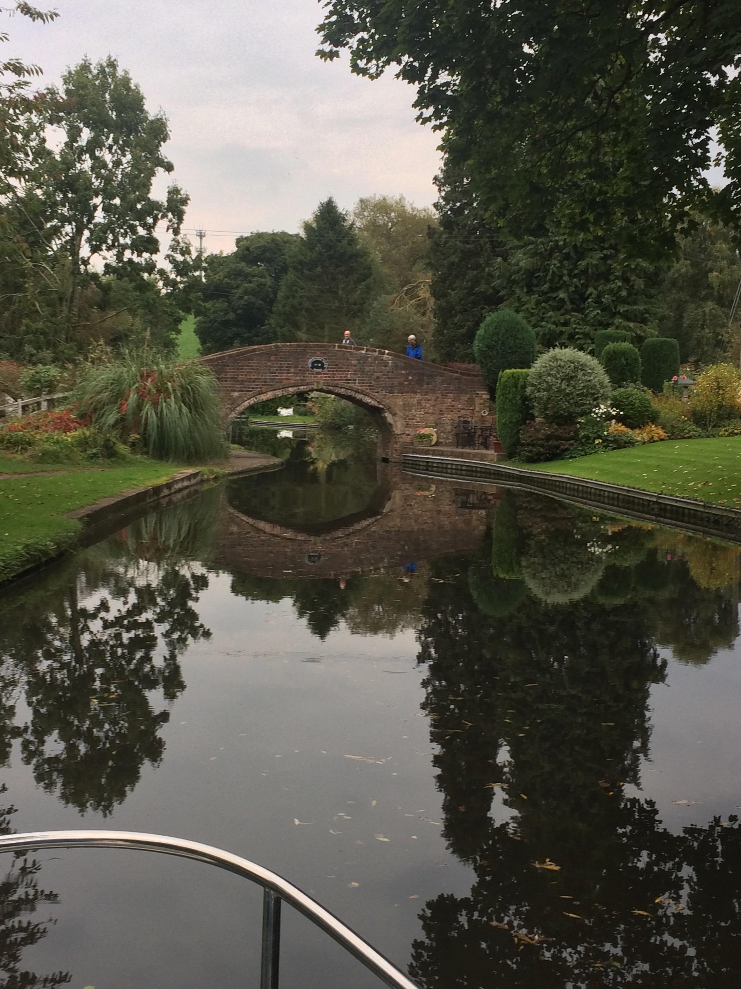 Quintessential bridge over a canal
