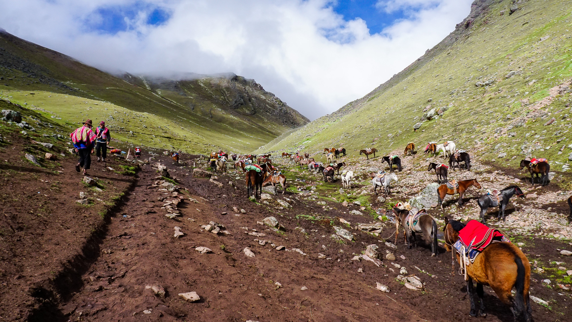Trek to Rainbow Mountain, Peru