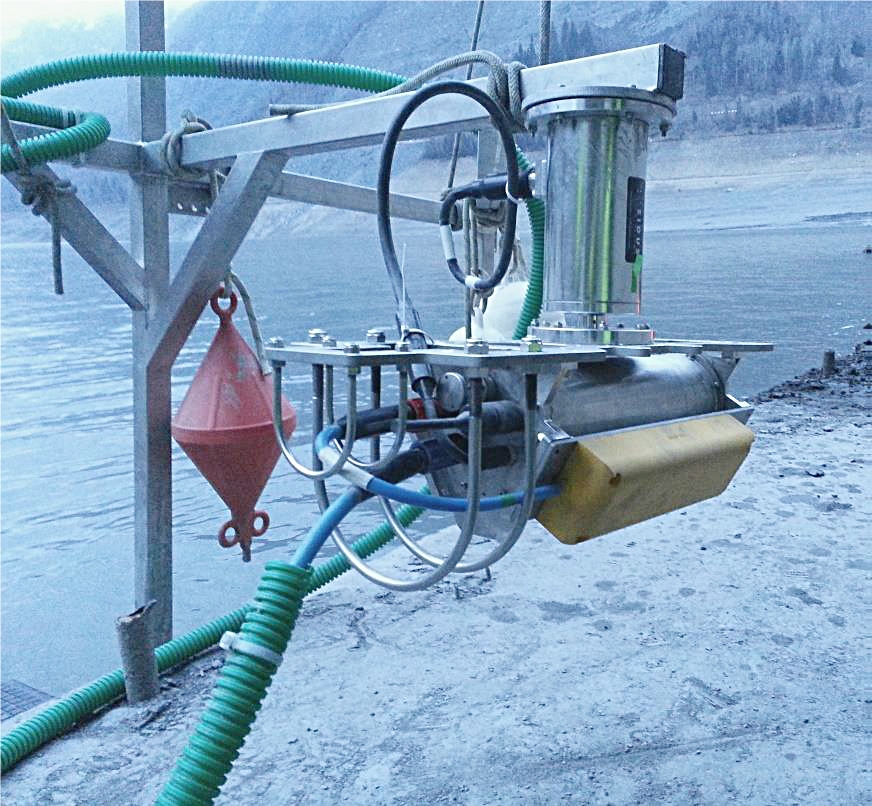Permanent Siltation Monitoring for hydro dam facilities