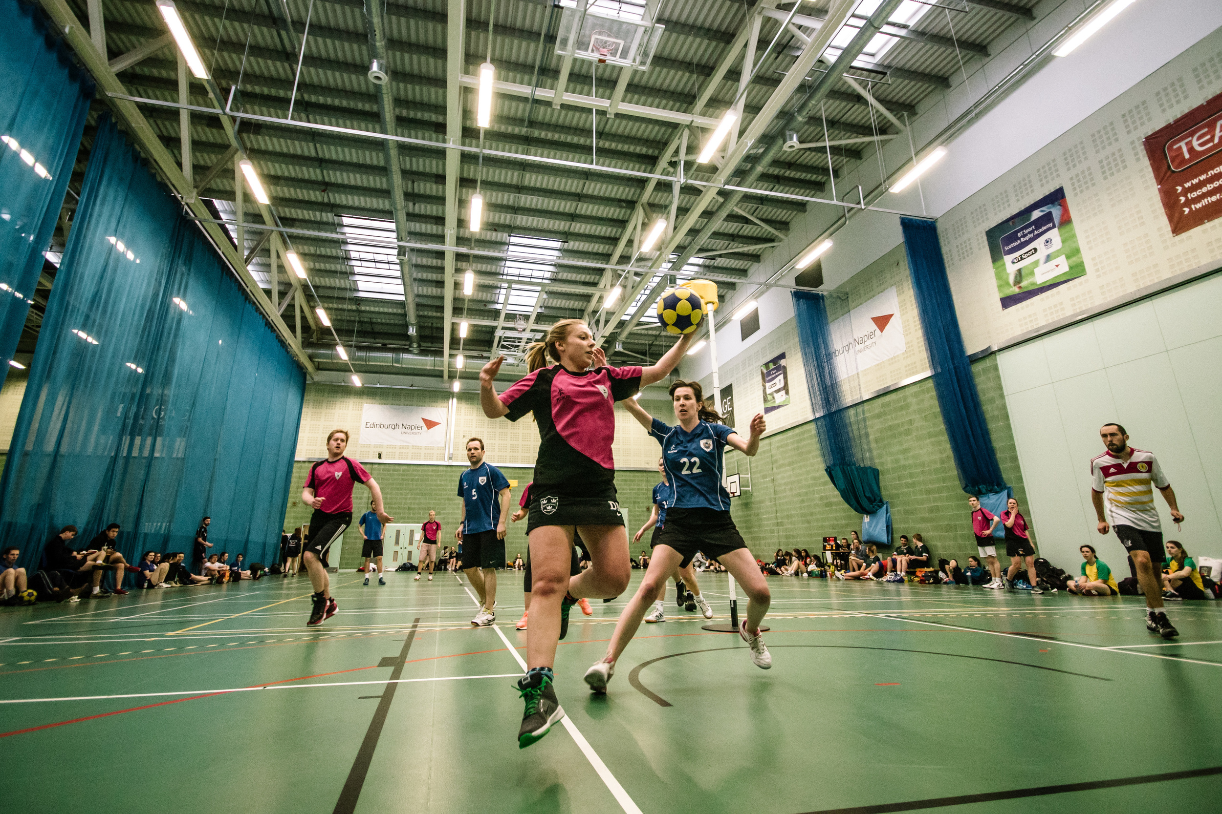 The Edinburgh International Korfball Tournament