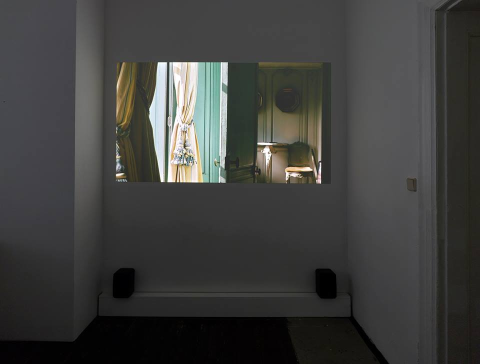 Train of Thought  , 2015 HD, 14:31 Min., 16:9, Colour, Sound Installation view   Train of Thought  , KM, Berlin, 2015
