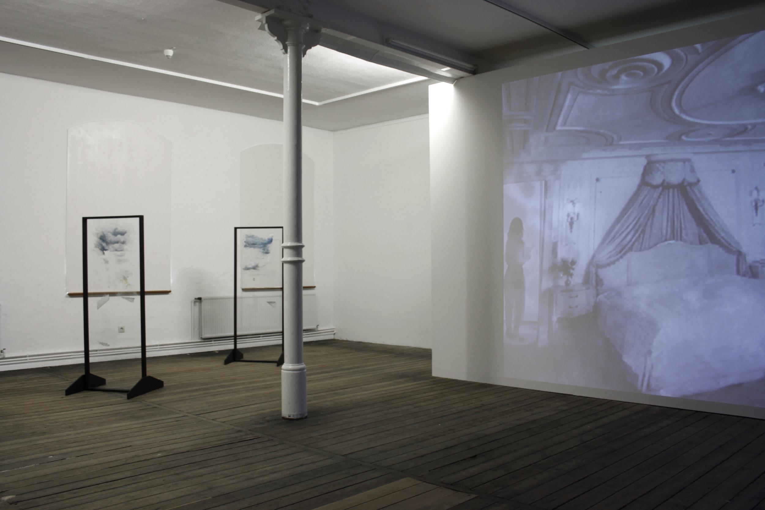 Installation view  Plot Holes,  Artur - Boskamp Foundation, 2010