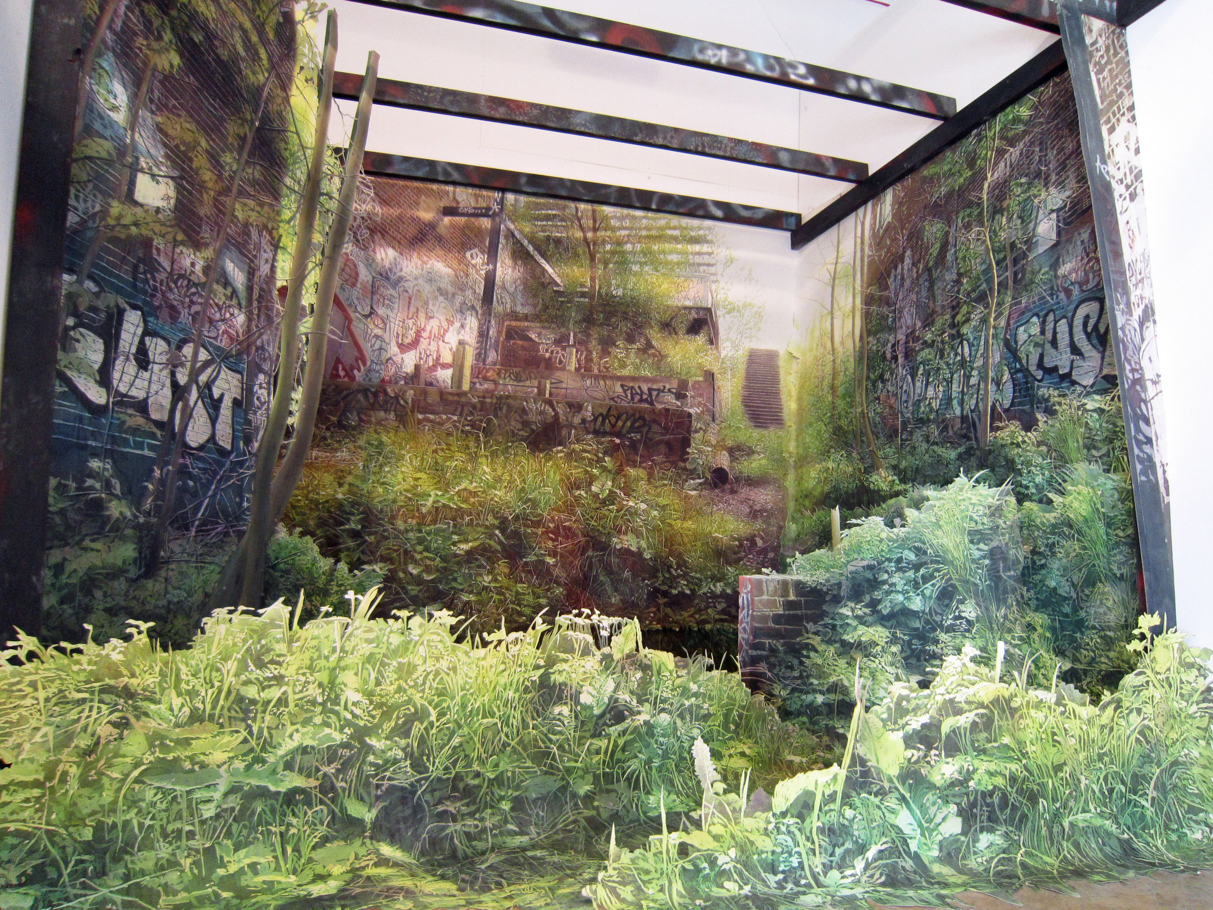 1st Prize Winner (£3000): Juliette Losq   Artwork:  Proscenium  (2018)