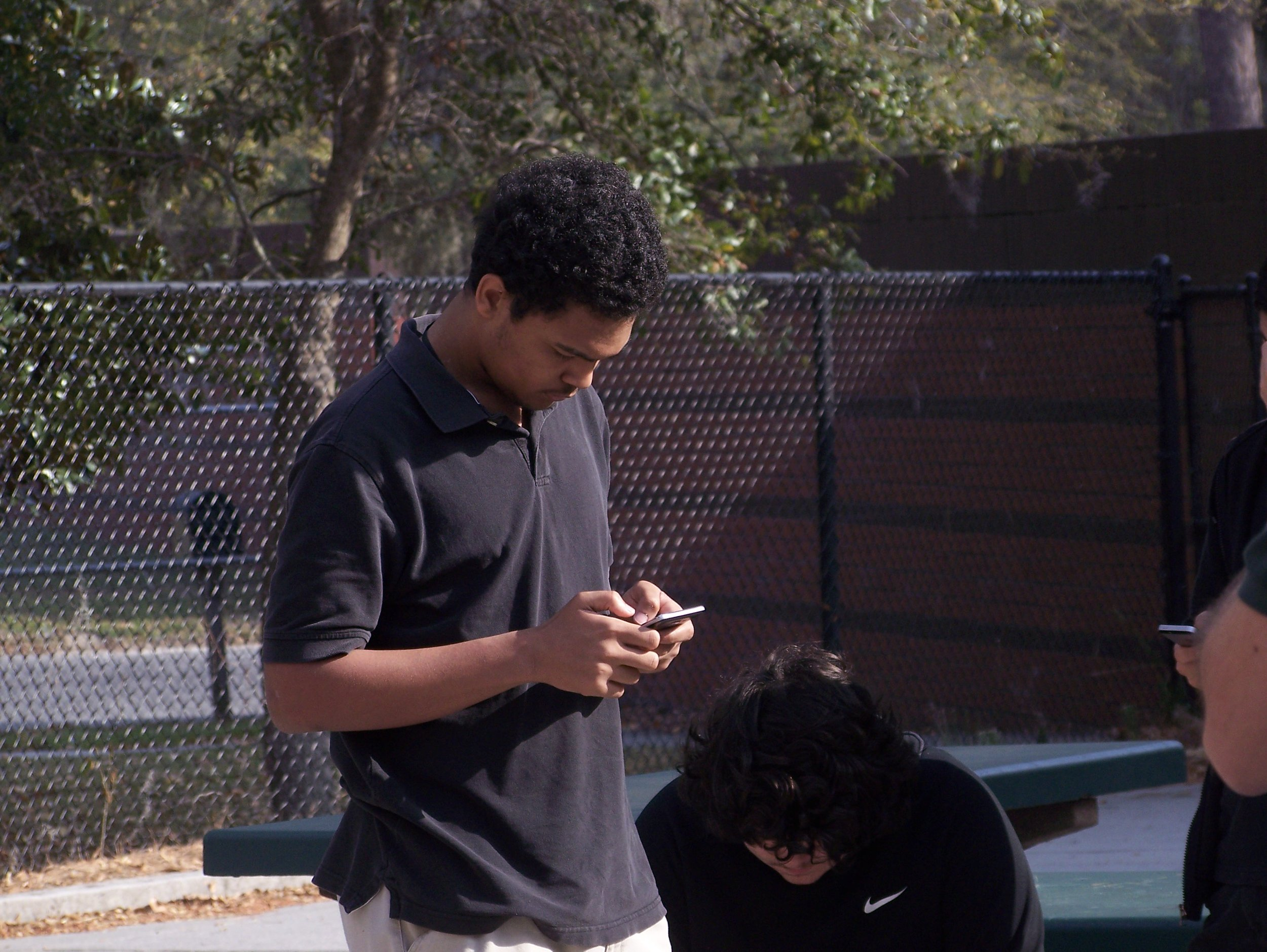 A Beaufort High School student takes a look at his C'reer profile.
