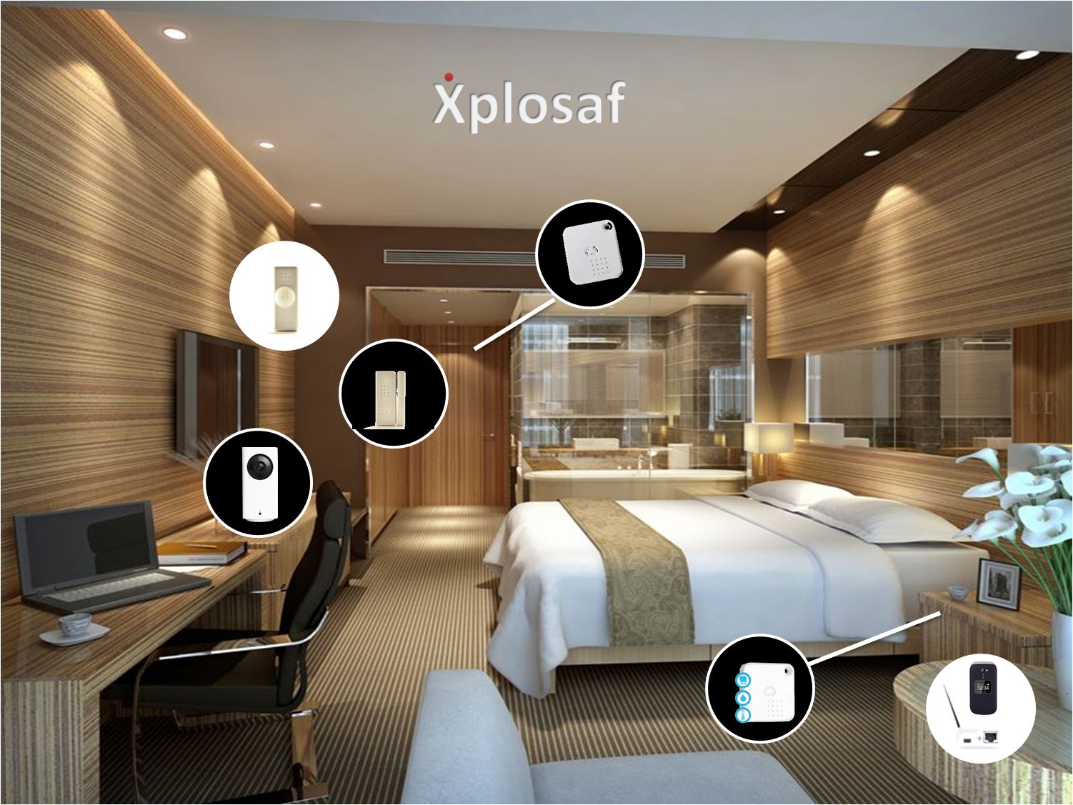 LUXURY APARTMENTS AND 4 / 5 STAR HOTEL STAYS - WIRLESS HUB | TEMEPERATURE SENSOR | SMART CAM | INFRARED SENSOR | DOOR SENSOR