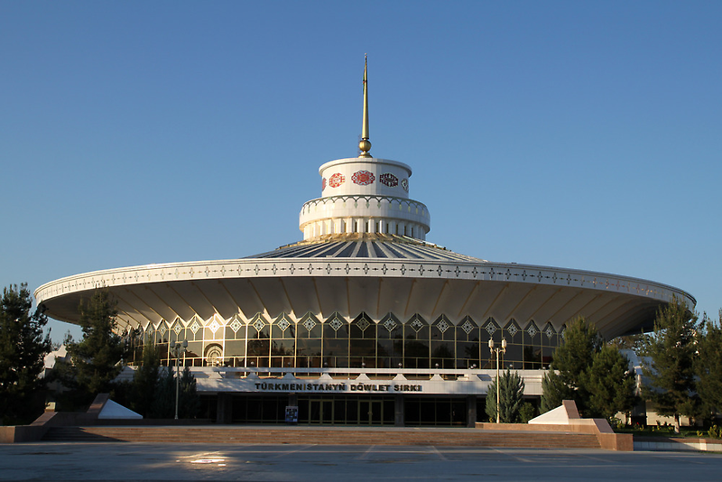 http://whenonearth.net/the-strange-and-beautiful-buildings-of-ashgabat-turkmenistan/