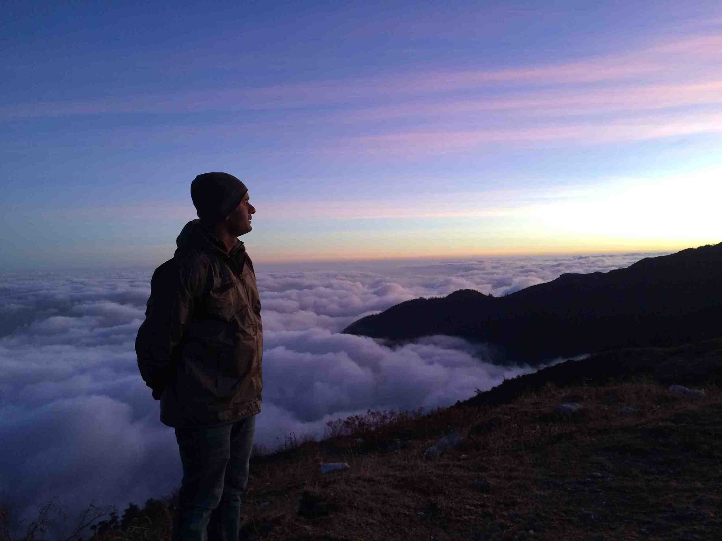 Sunrise at Gnathang valley