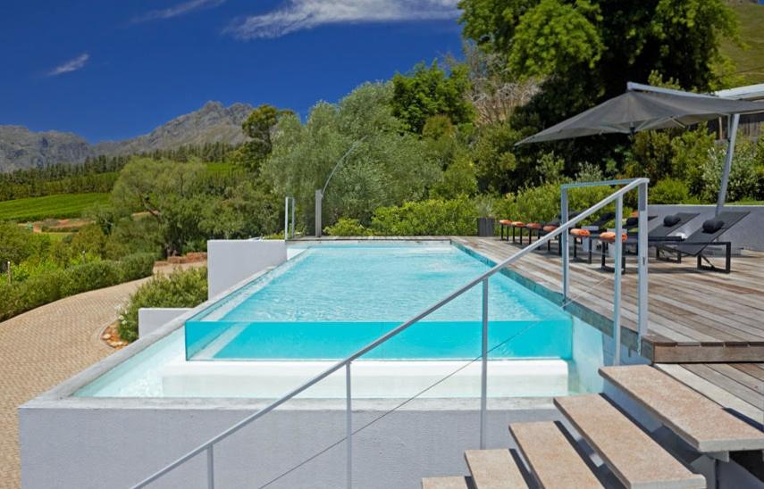 Swimming pool at the estate