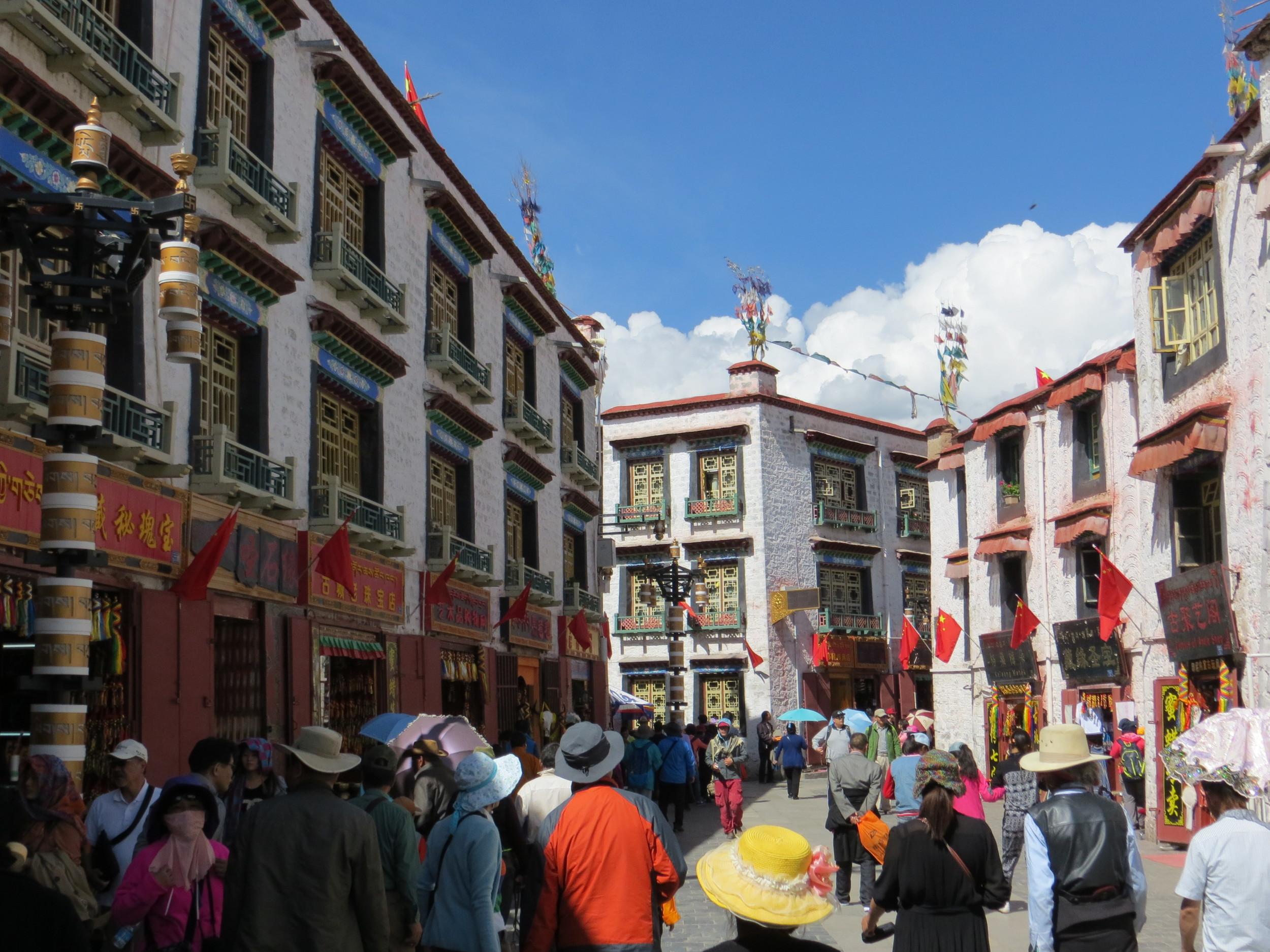 Barker street- The Mecca of Tibet