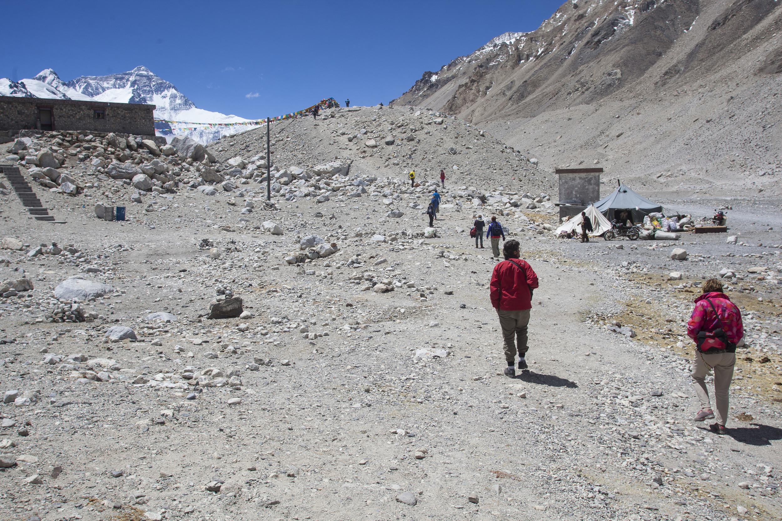 Mt. Everest base camp