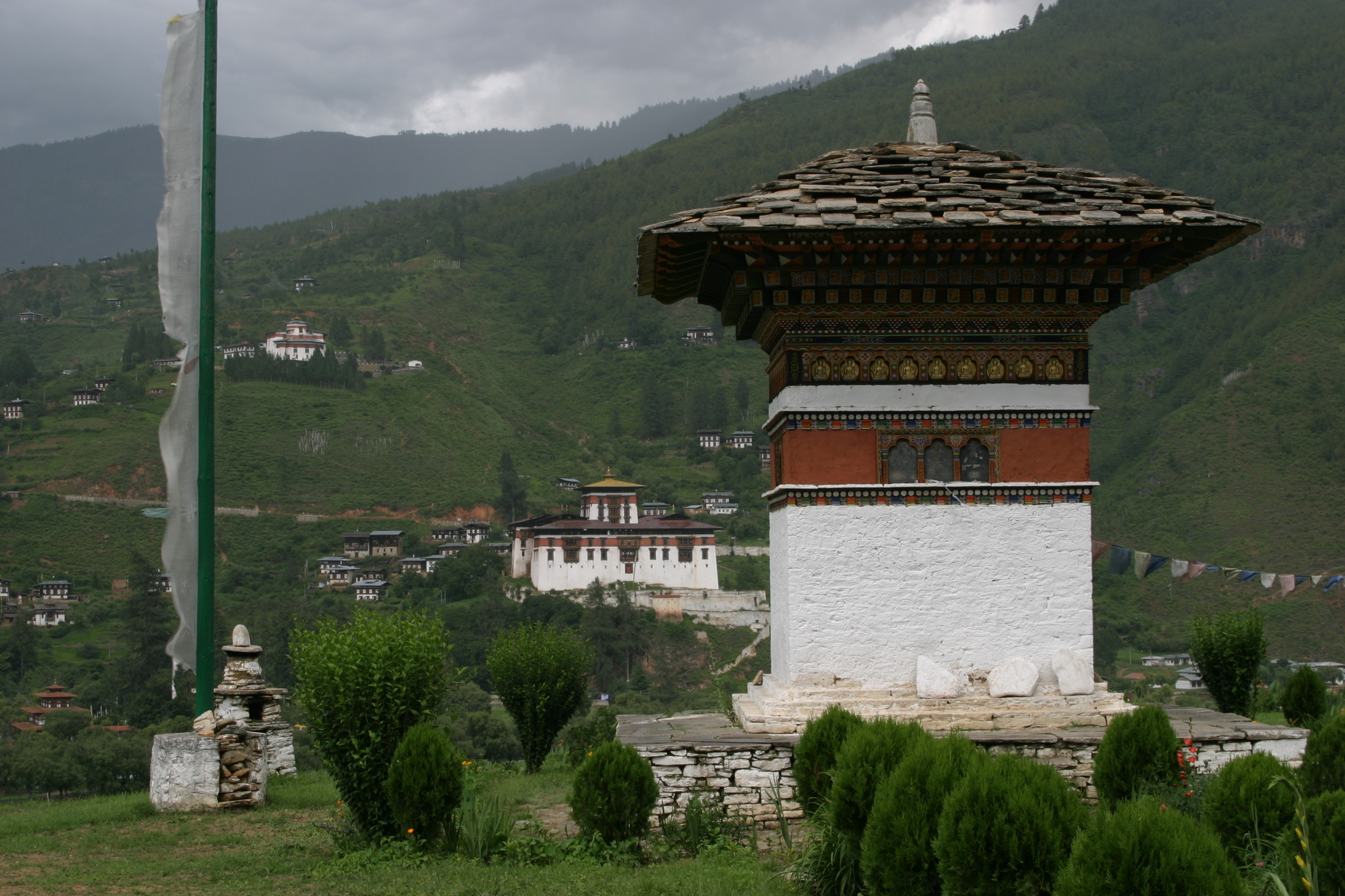 Bhutan- World's only carbon negative country