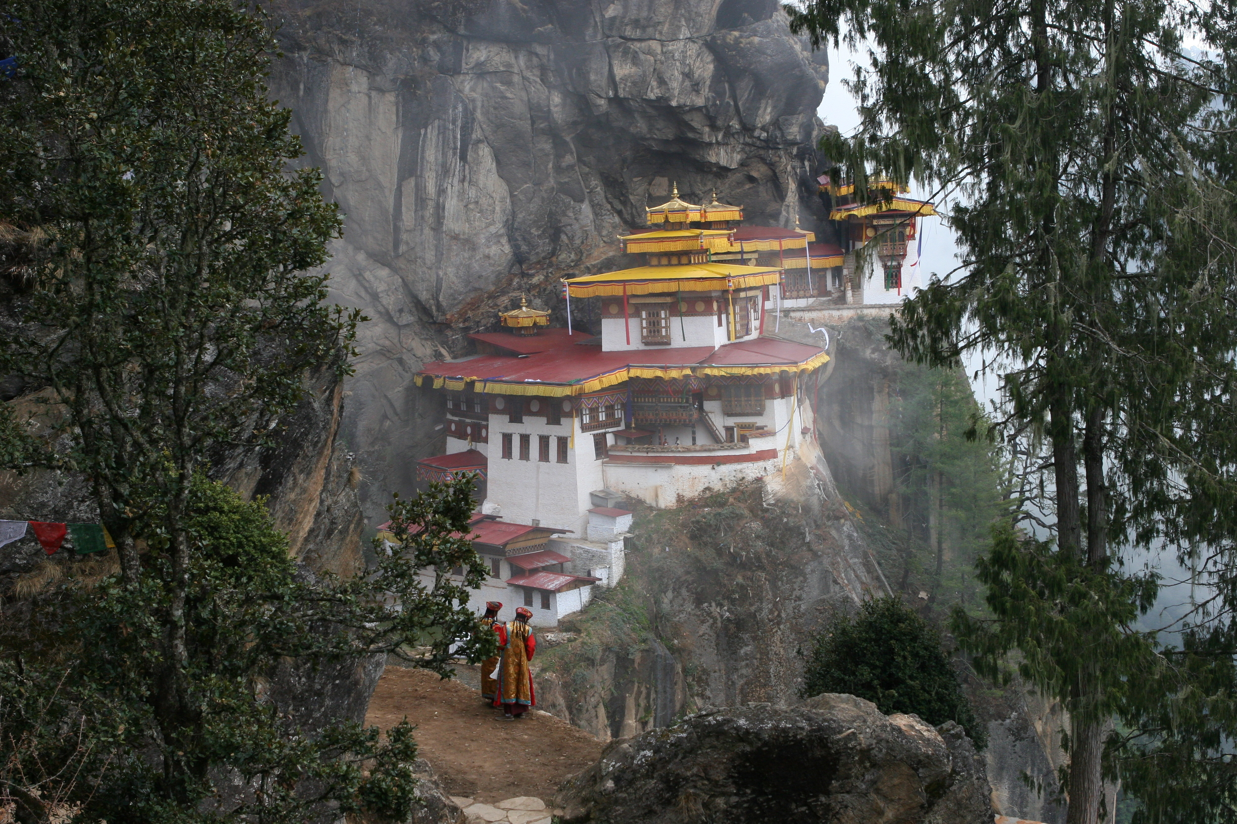 Taktsang Monastry, also called Tiger's Nest