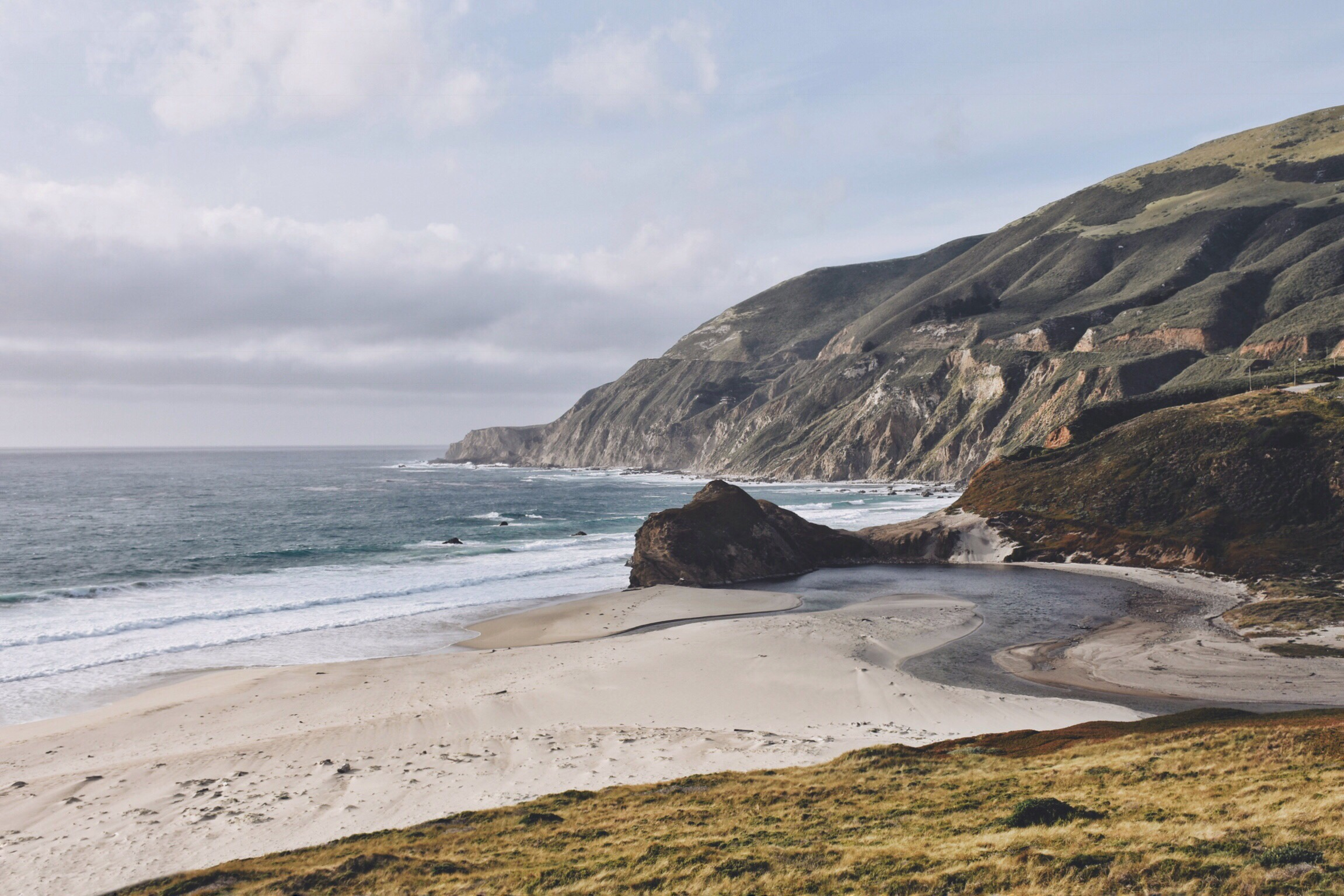 Want to tell people that you had an entire beachfront to yourself for a day? Head to Big Sur...it is always this quite!