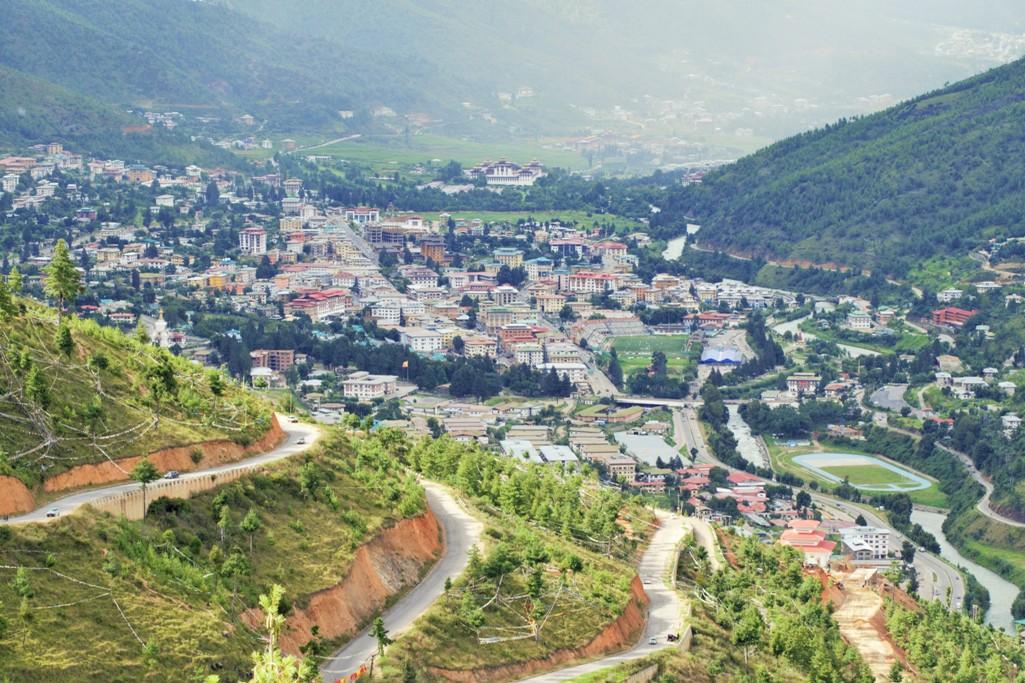 Beautiful Thimpu- The Capital of Bhutan