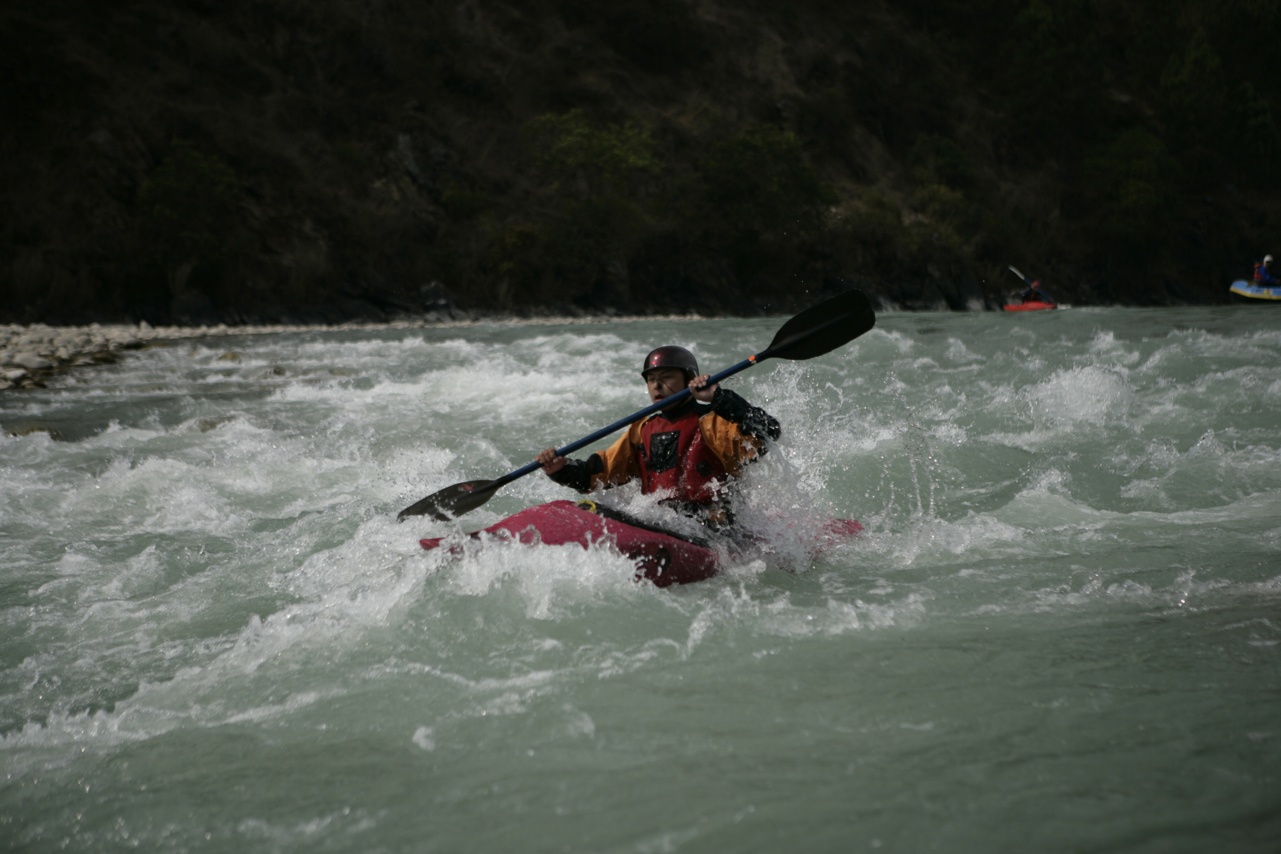 White water rafting- it doesn't get better than this!