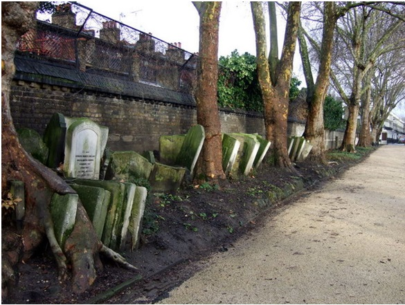 Camden gardens or Cemetery...take your pick! Pic Credits:  https://goo.gl/1q2H2g