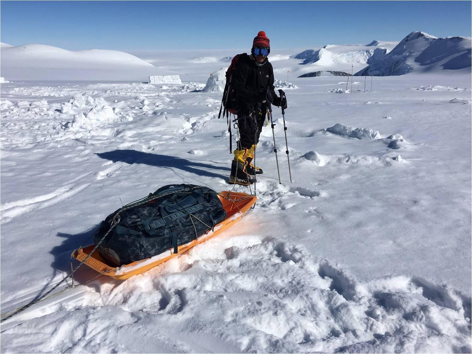 On way to conquer Vinson Matiff