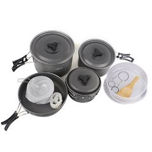 Camping pots cookware