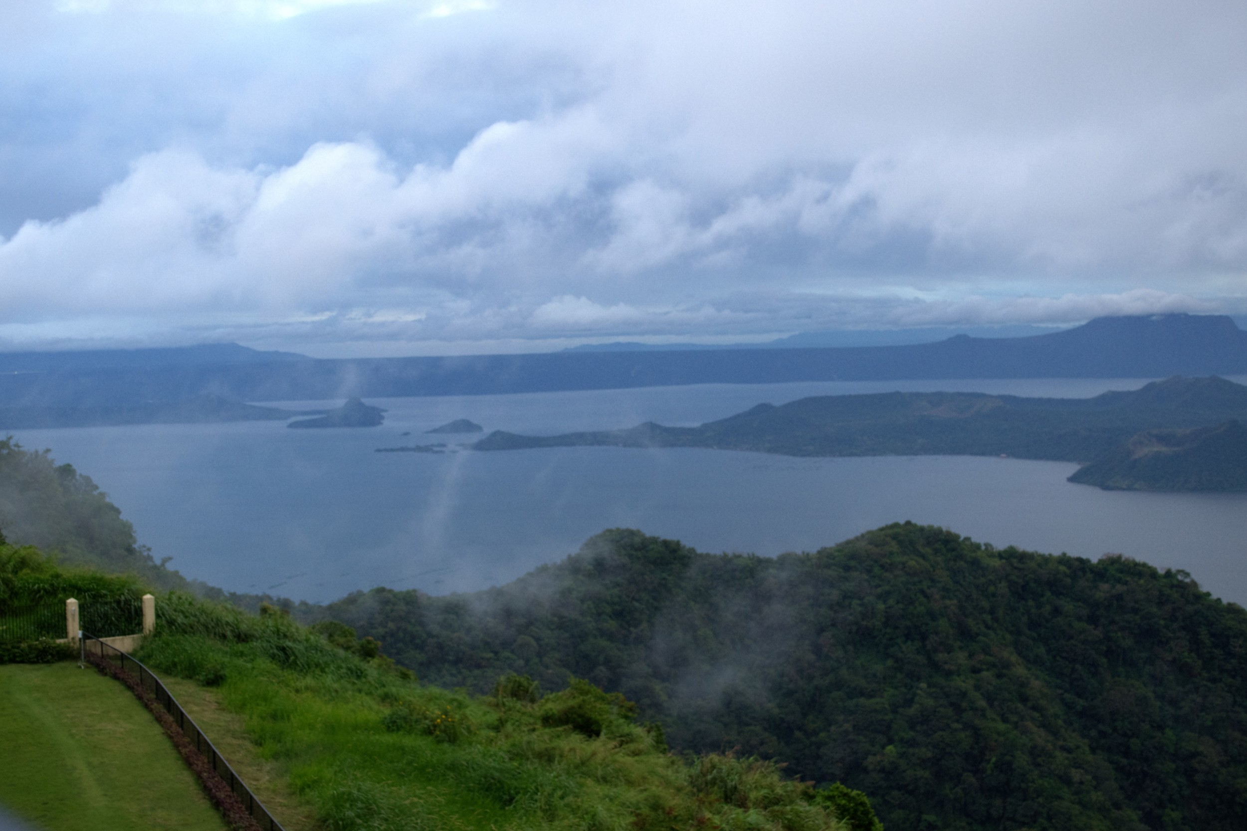 View of Taal Lake from Taal Vista Resort