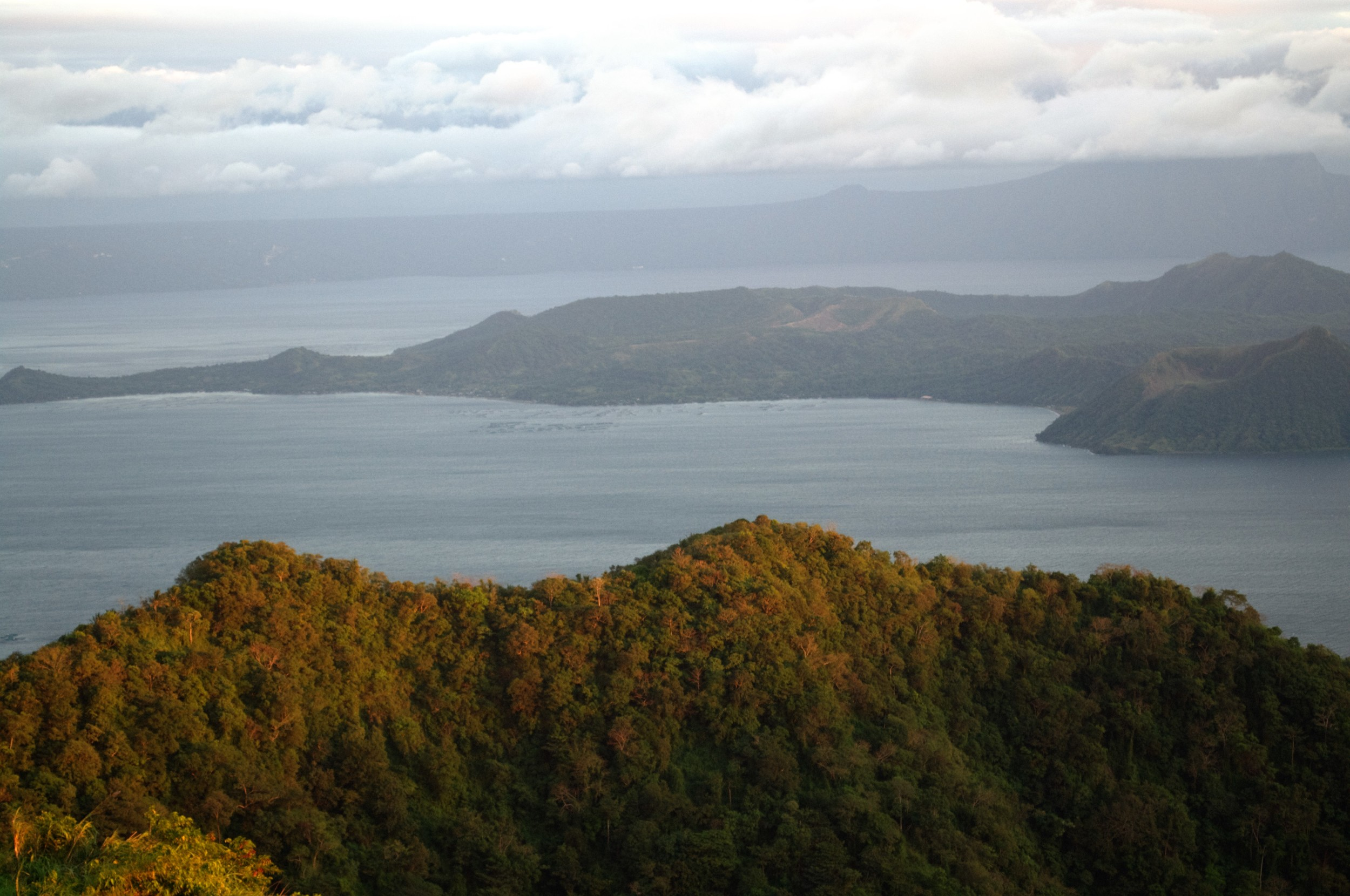 View of Taal lake from Tagaytay
