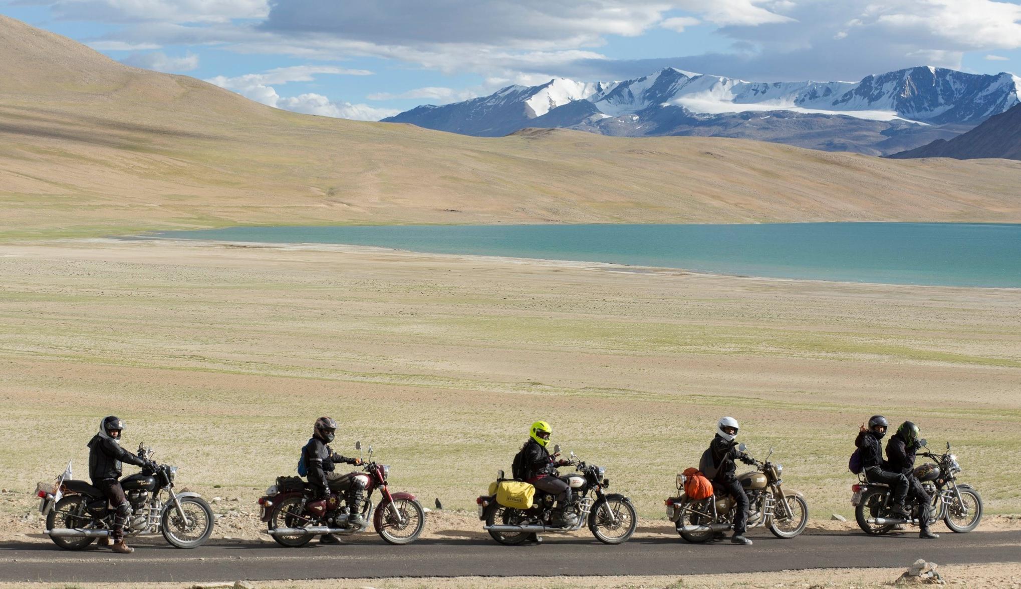 The bike caravan