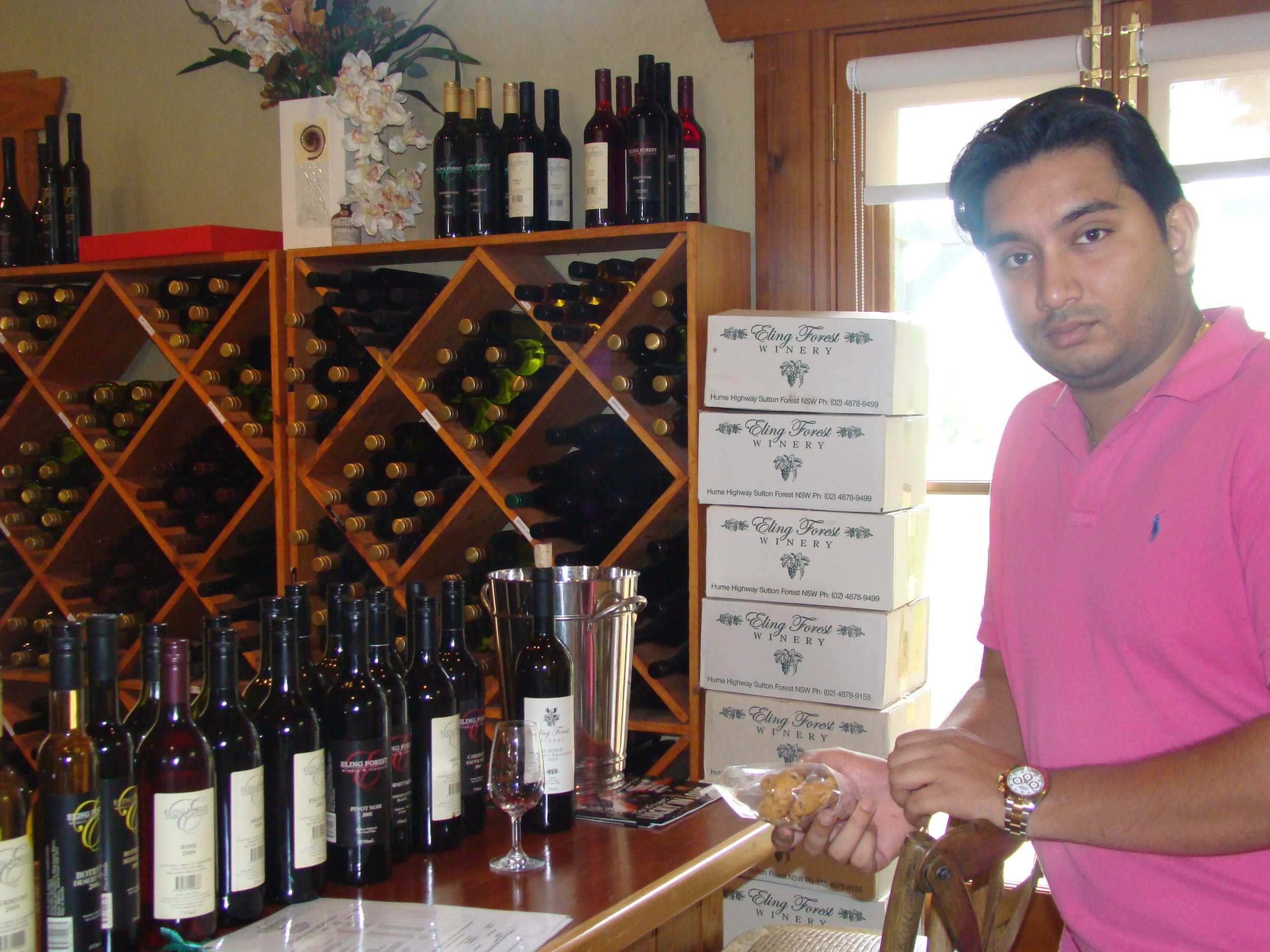 World famous wines