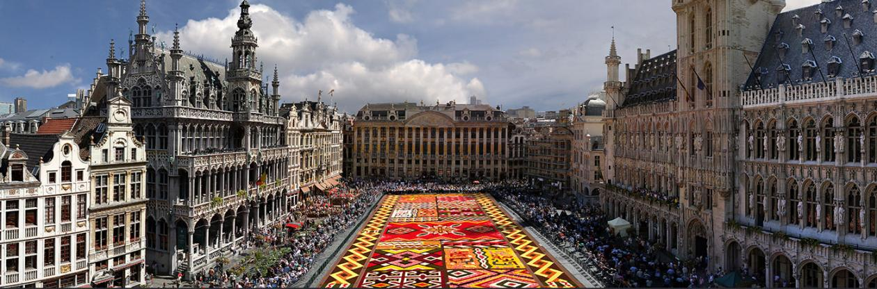 That is not a carpet.....just a flower bed!!!  http://www.flowercarpet.be/en