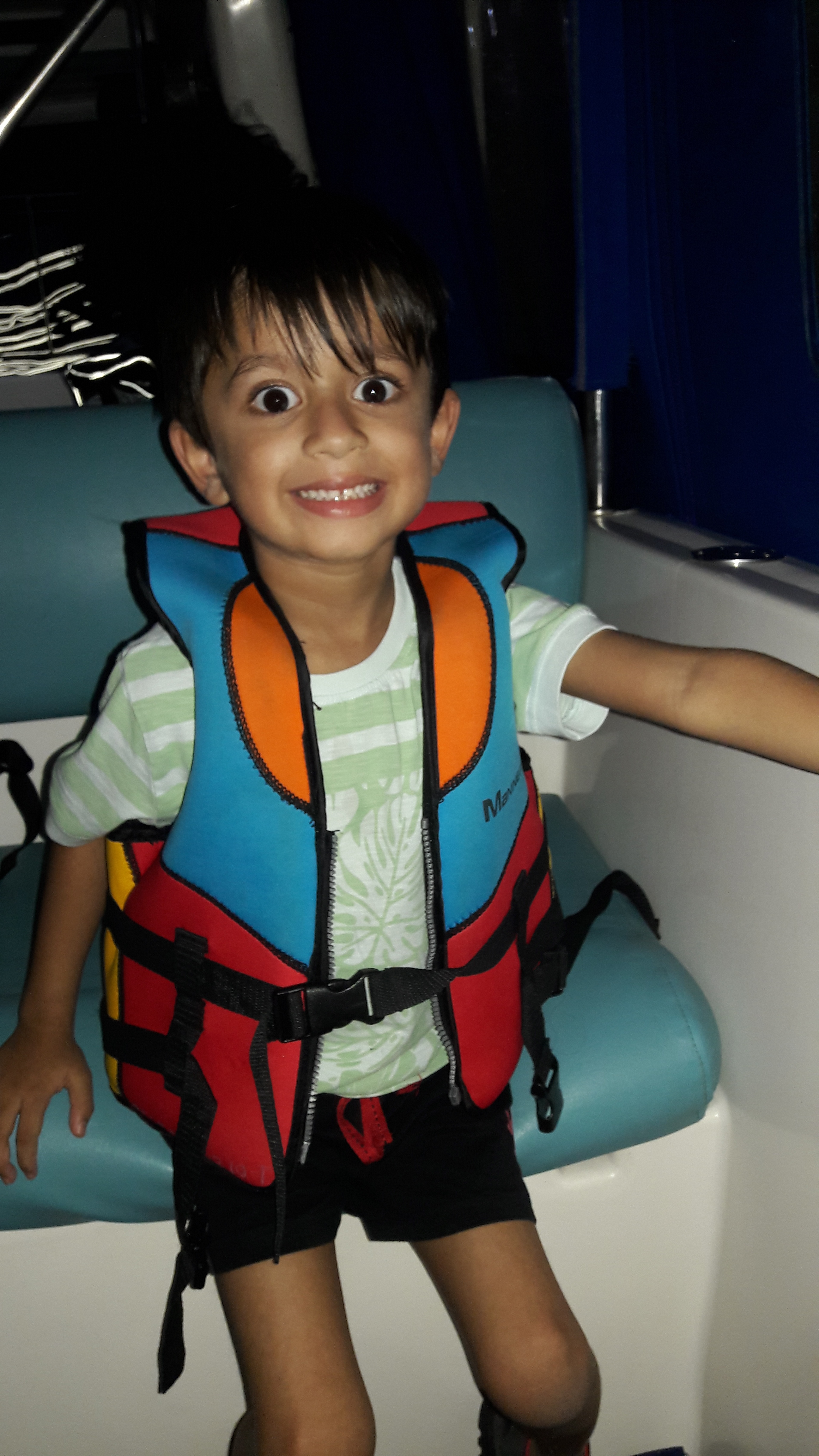 That's the life Jacket....smile says it all!