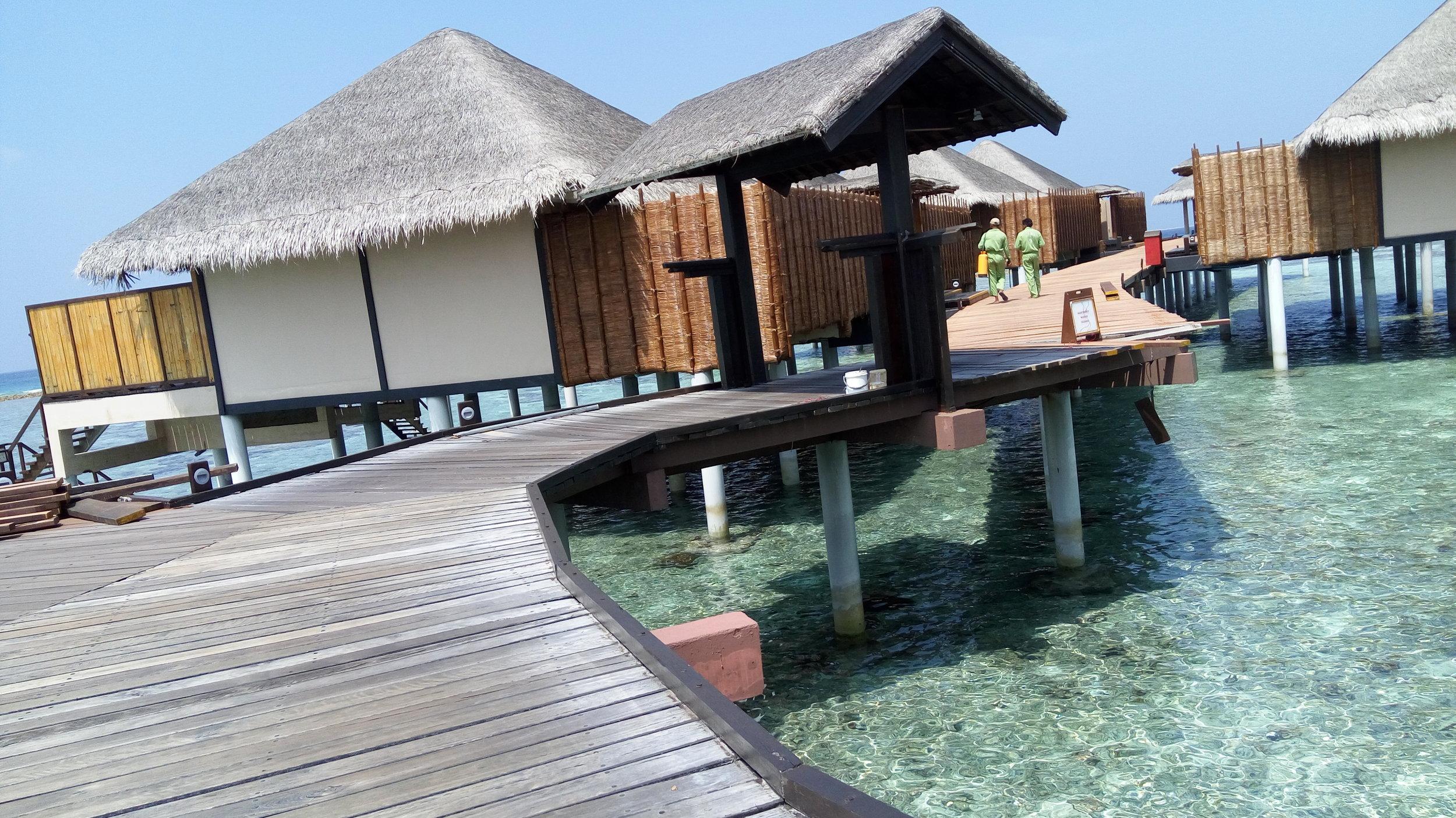 The villas at Adaaran Prestige Vadoo