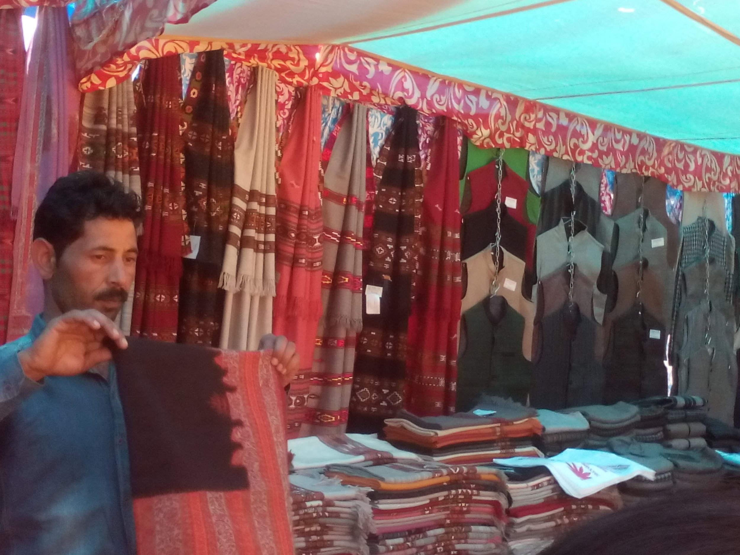 Shopping at Sujanpur Tira on Holi