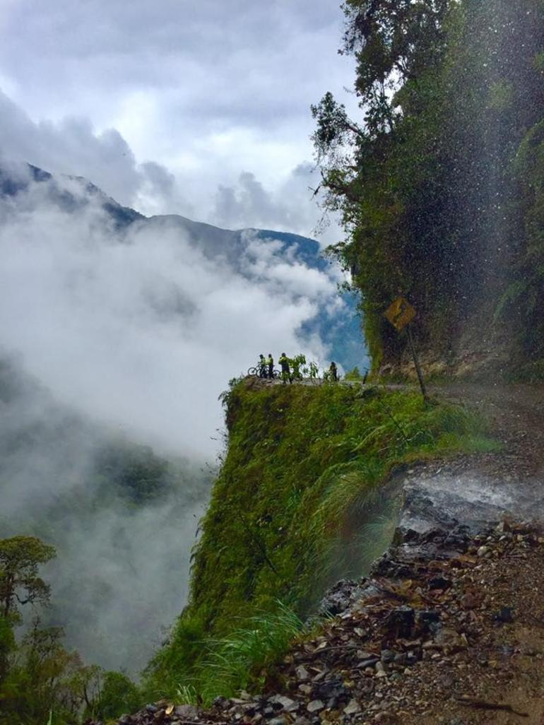 The Death Road, la Paz, Bolivia