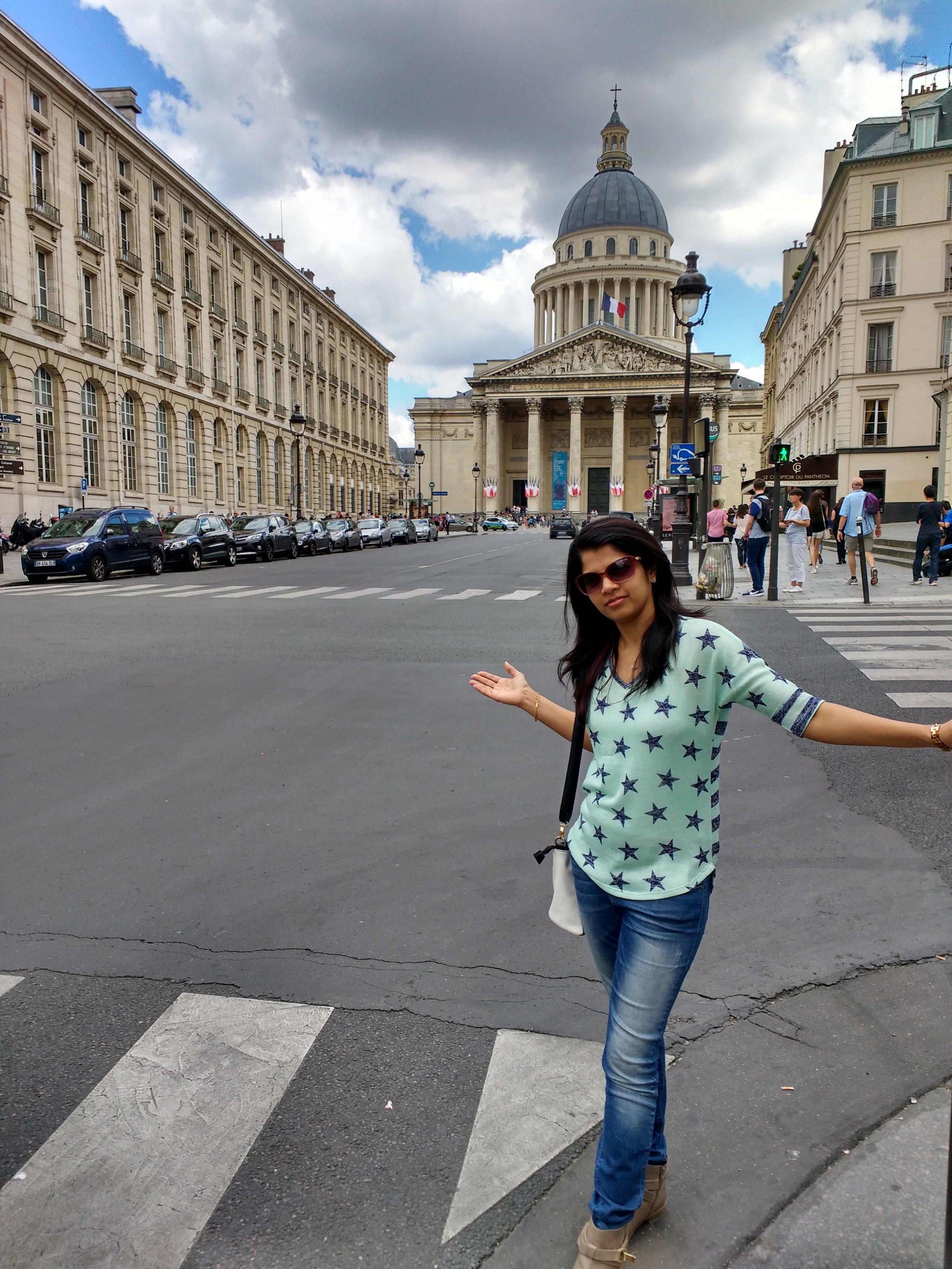 Pantheon Paris....Getting my groove back!