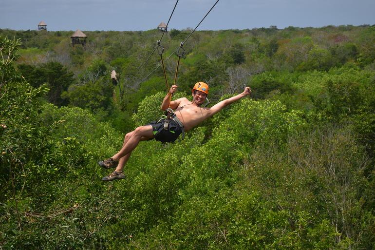 Zip Lines Selvatica, Cancun