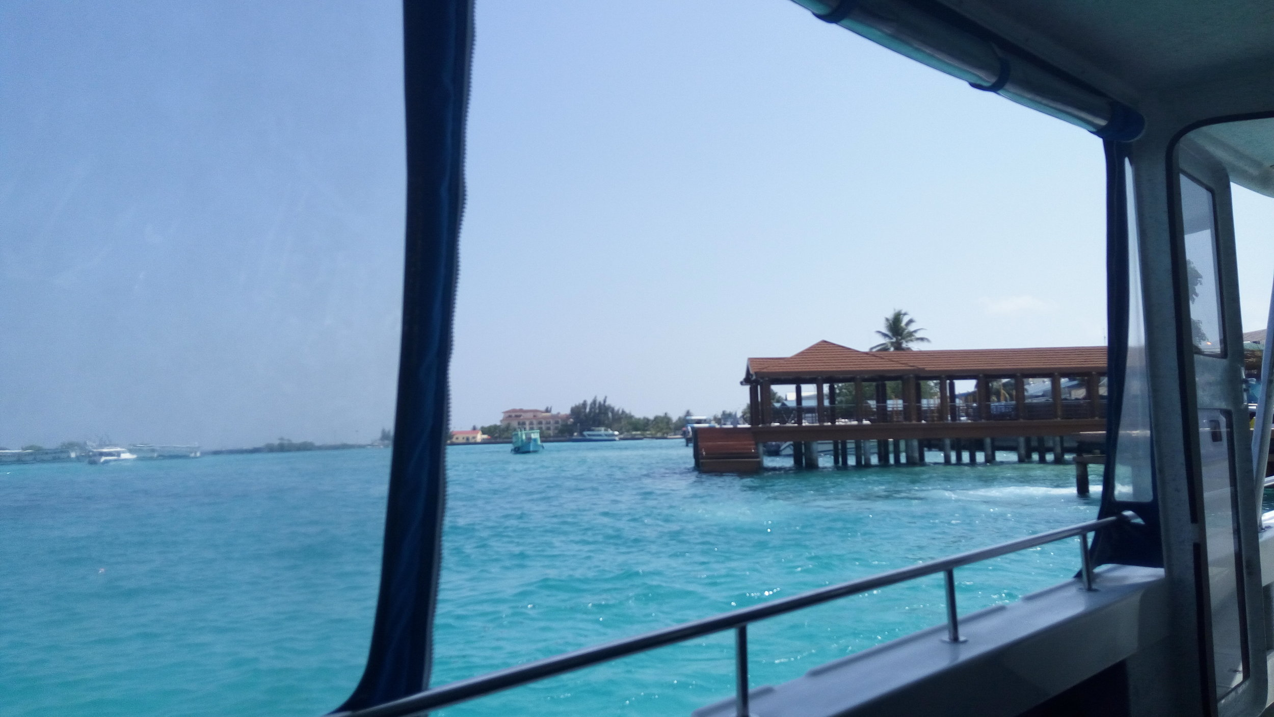 From the Boat.....