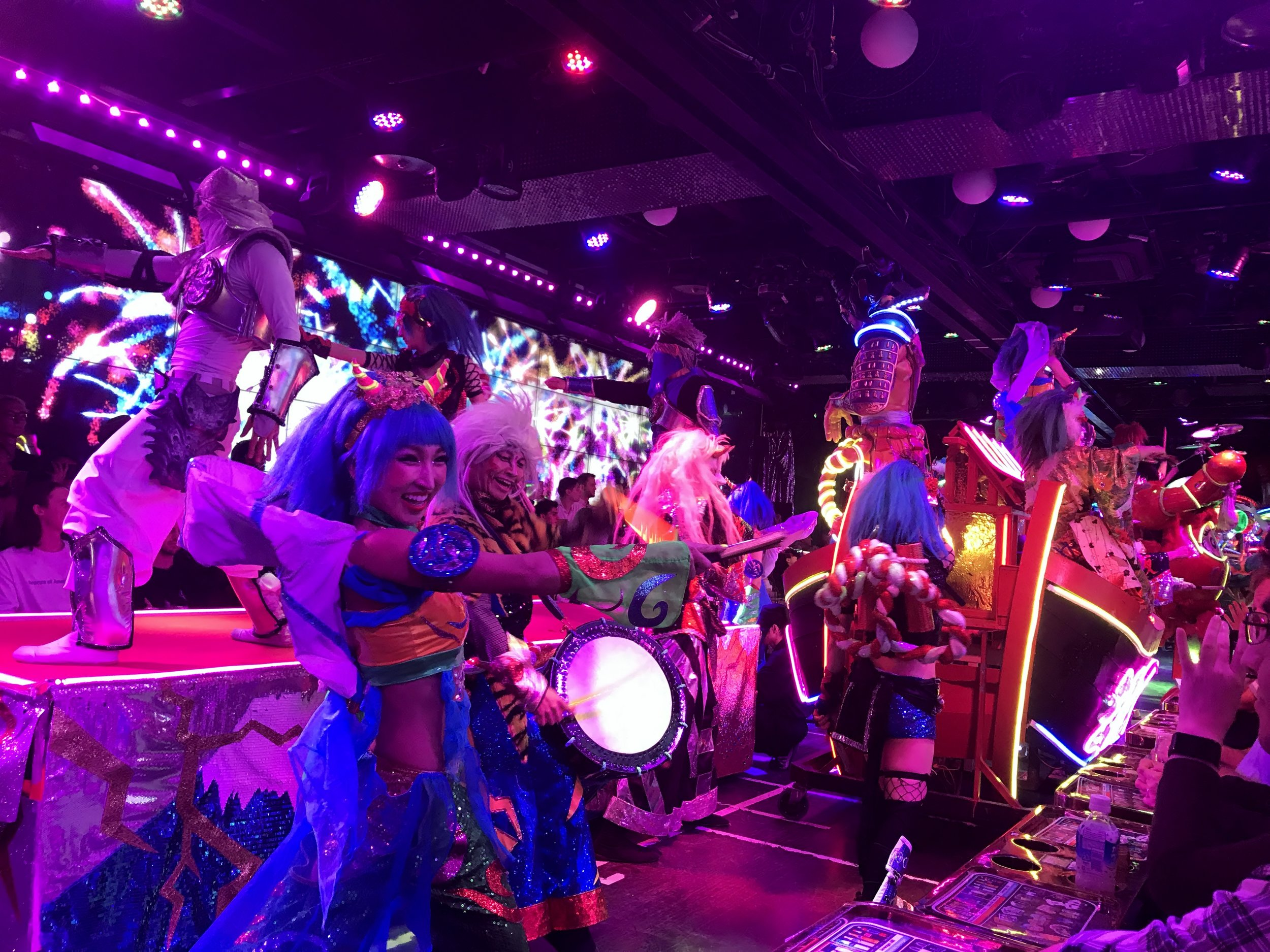 The final Performance at Robot restaurant