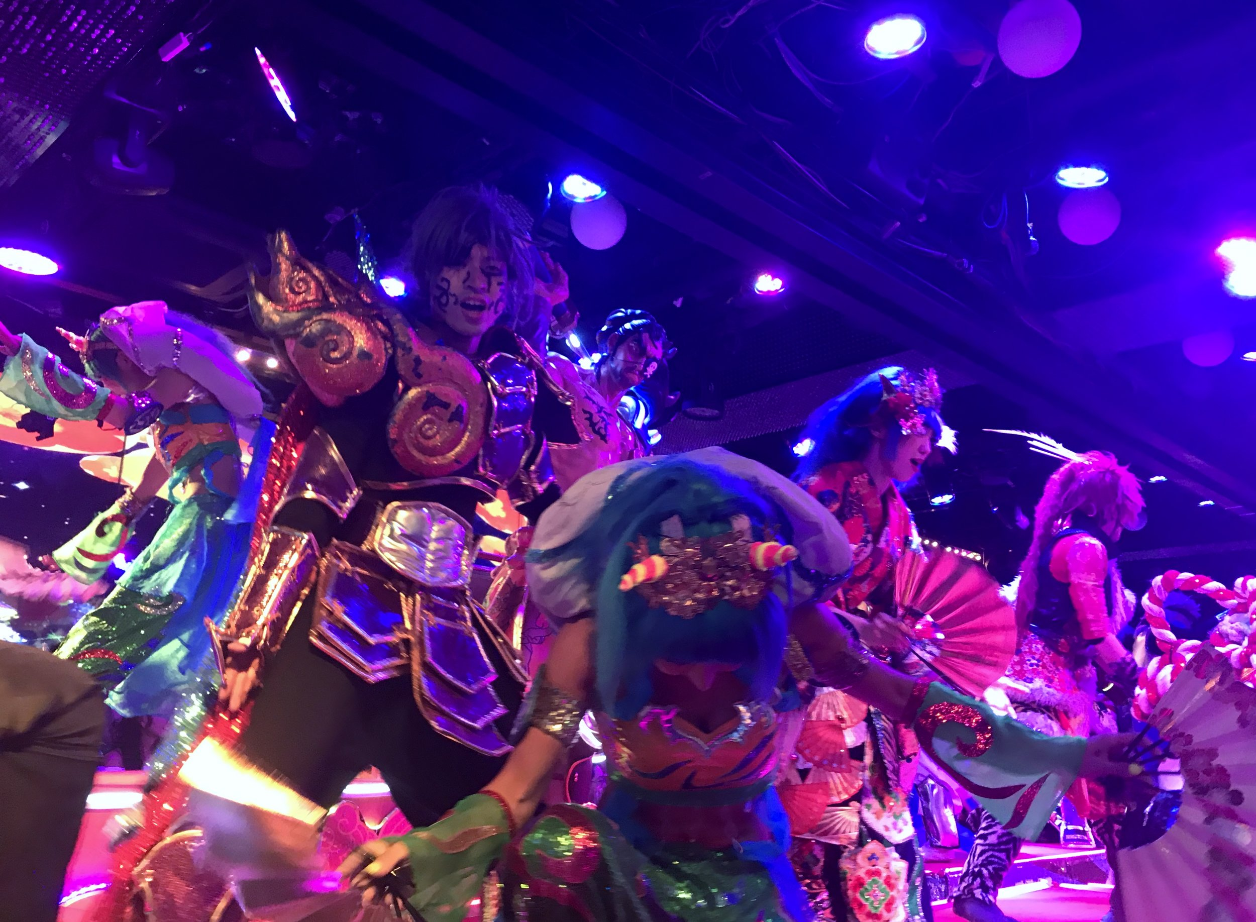 The grand Finale at Robot Restaurant
