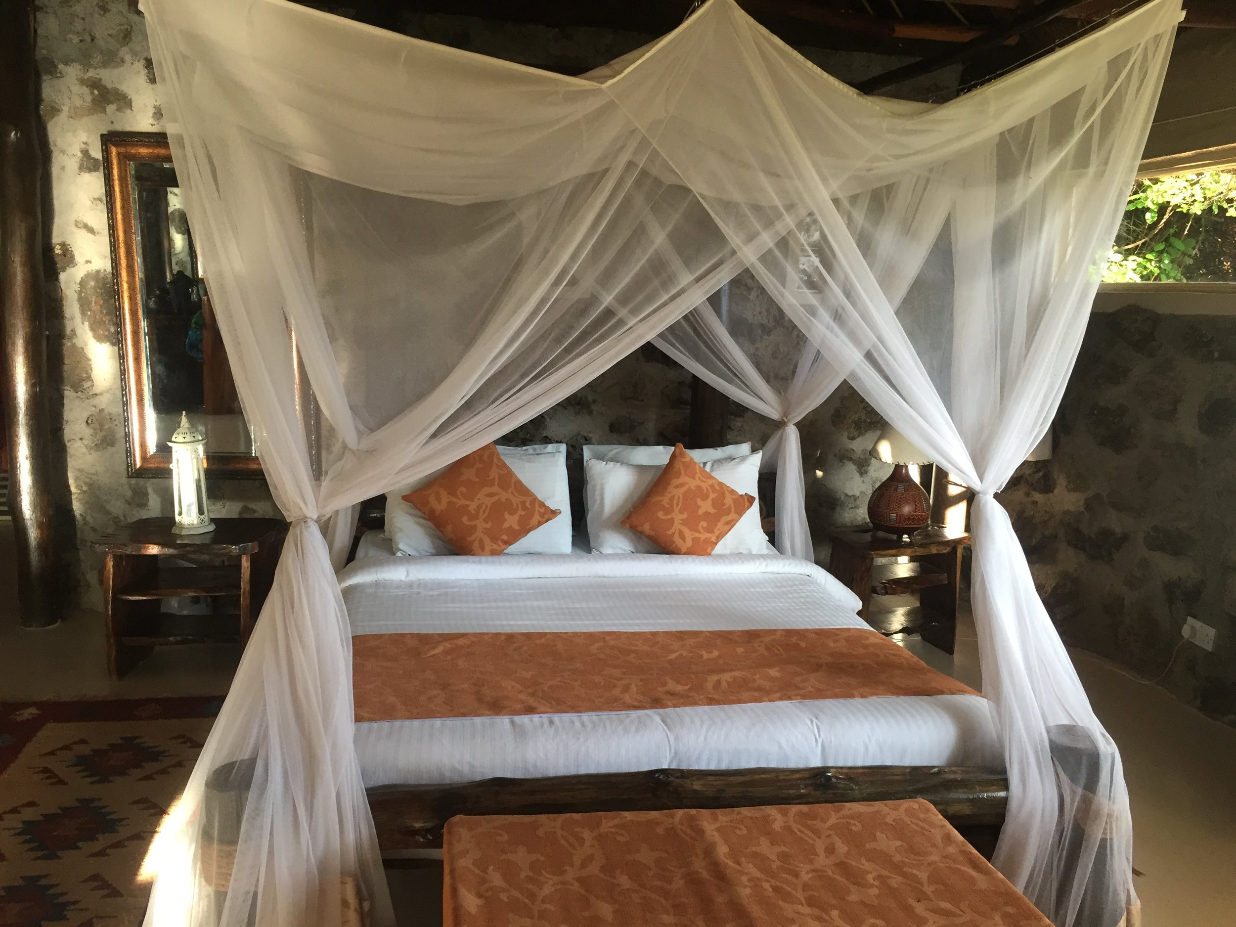 Mbweha Resort rooms