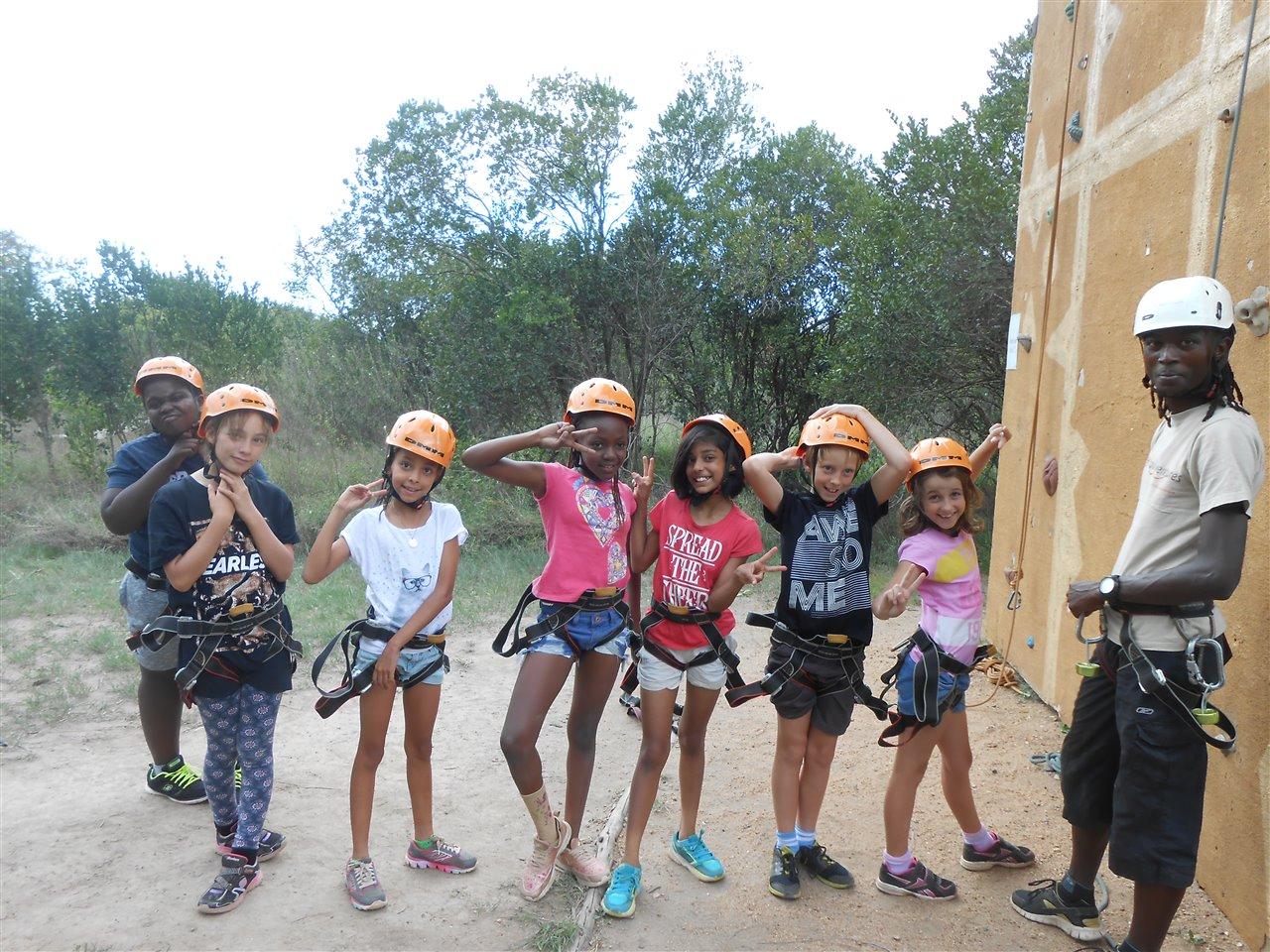 Rock Climbing at OI Pejeta Kenya