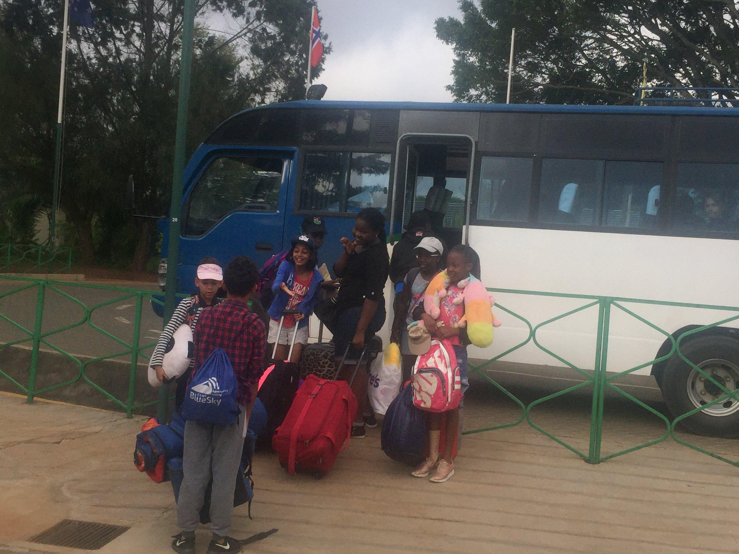Going to OI Pejeta Kenya