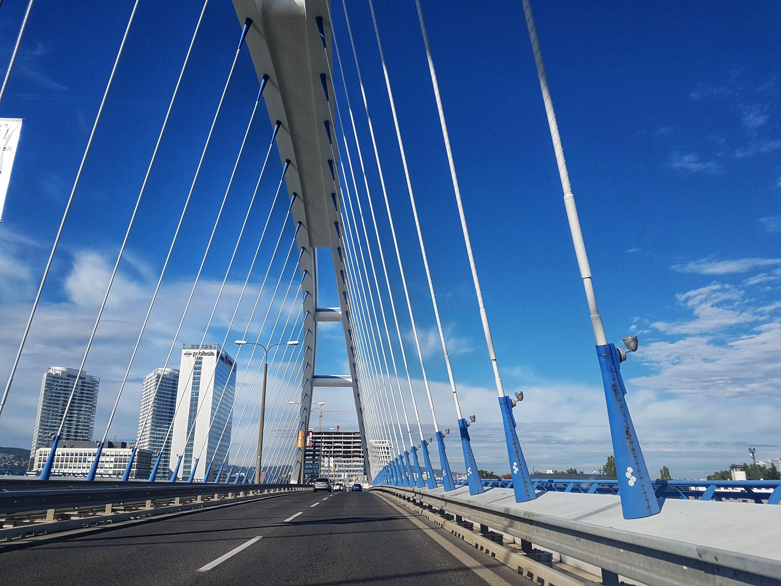 Bratislava, First destination