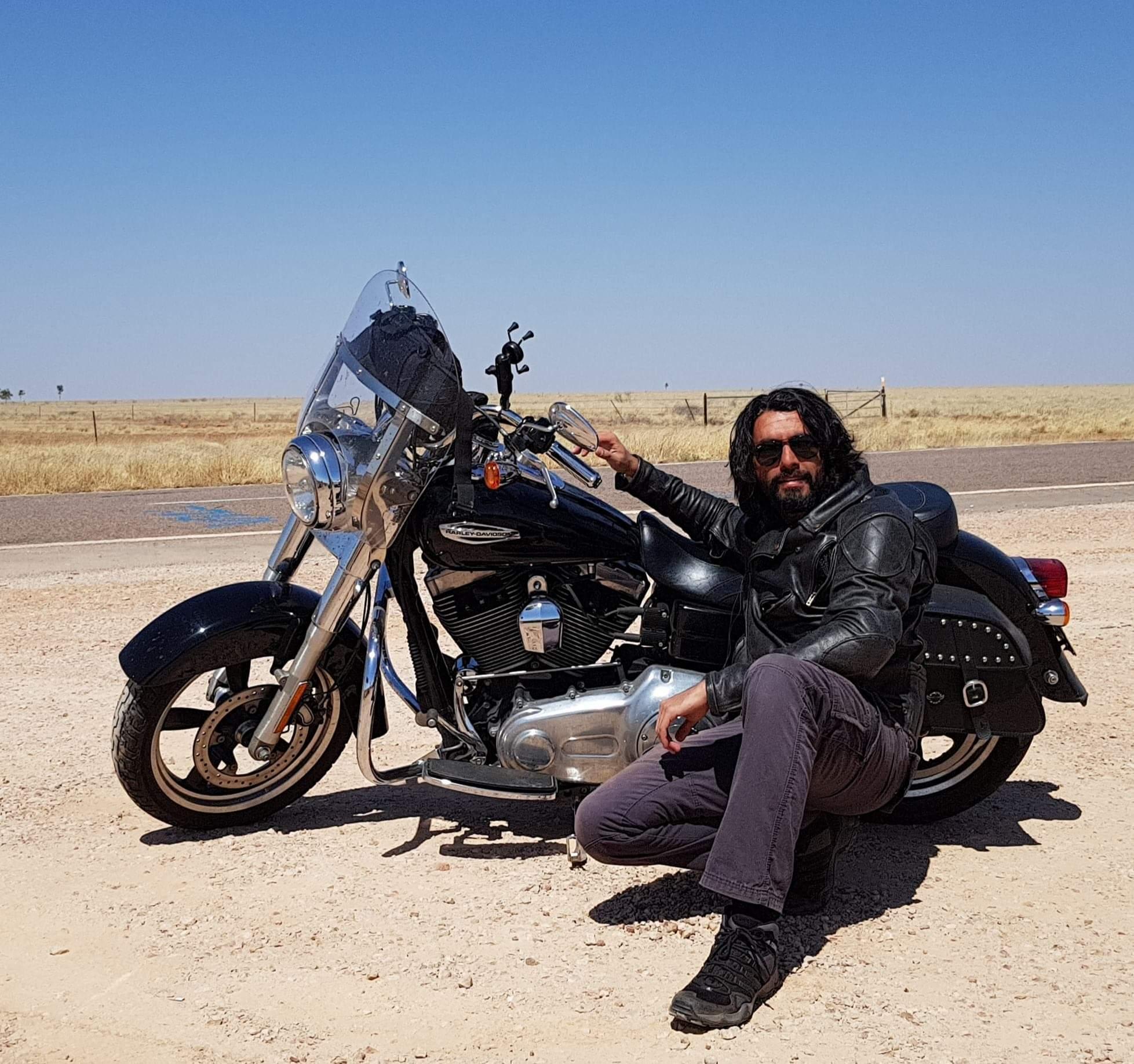 Somewhere in central desert