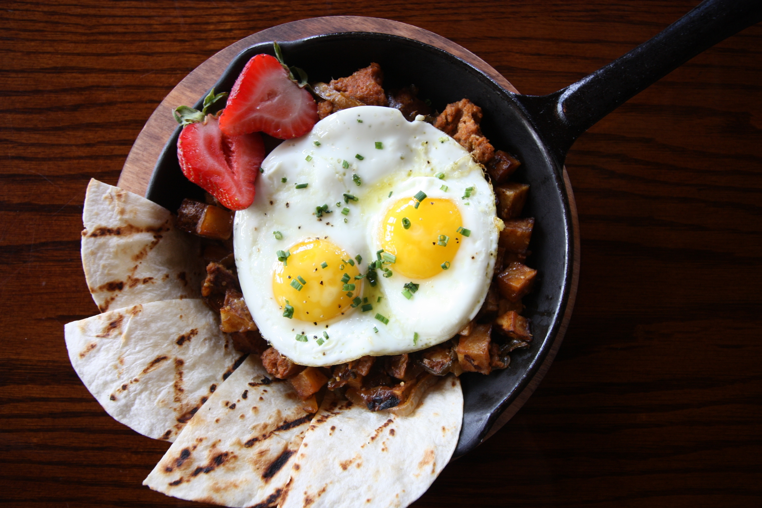 Chorizo & Egg Skillet