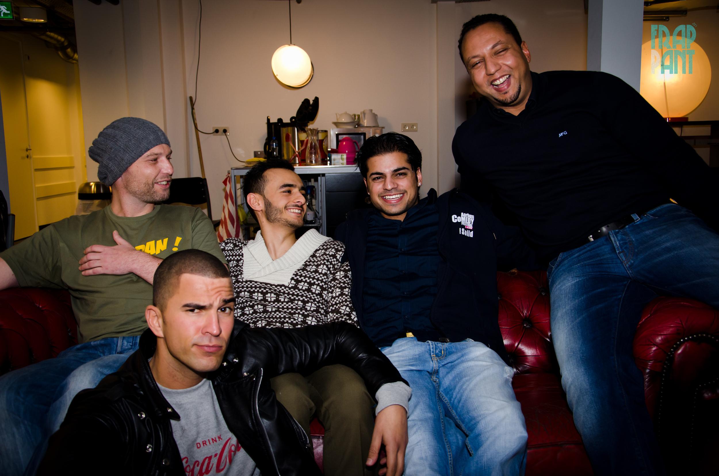 Bram van der Velde, Nabil, Farbod, Rayen Panday, Hicham Ennadre