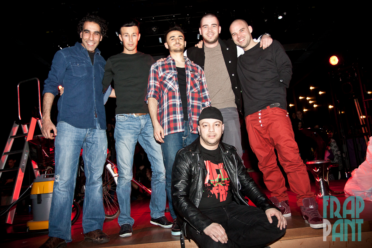 Omar Ahaddaf, Youssef el Mousaoui, Farbod Moghaddam, Hatim Filali, Derek Otte, Guus van der Steen
