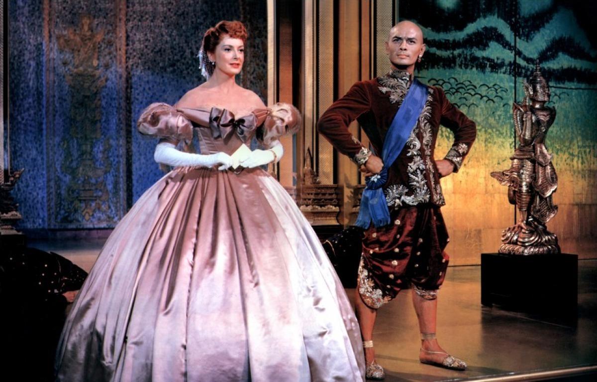 Yul Brynner &Deborah Kerr in the 1956 film adaptation
