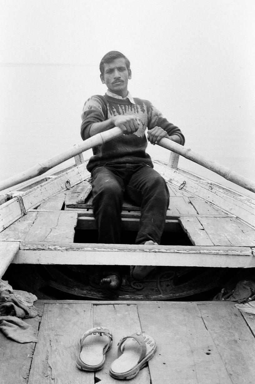 Boatman - Varanasi, 2015