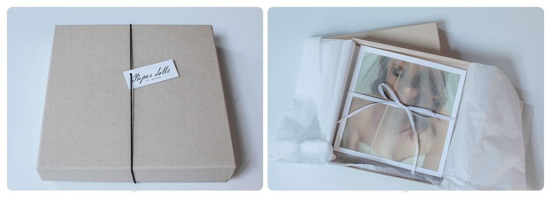 Atlanta Wedding gift- Boudoir in gift box with white delicate ribbon. Make your grooms gift personal!