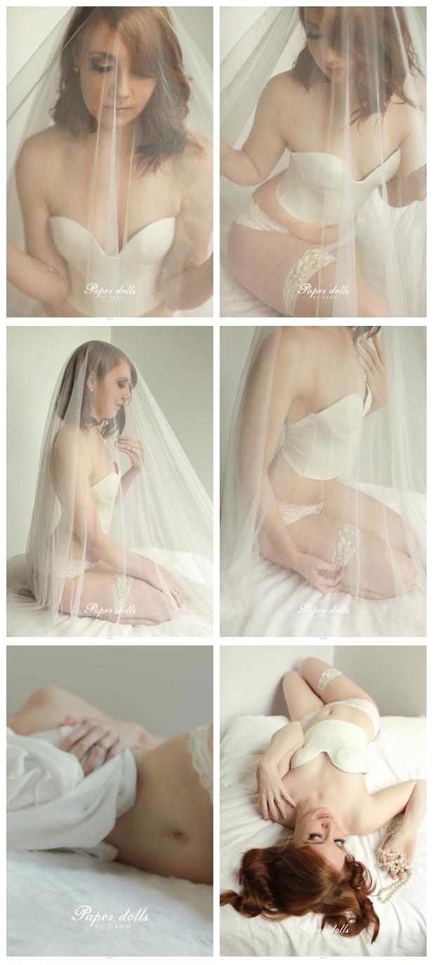Atlanta bridal lingerie- pearls - boudoir